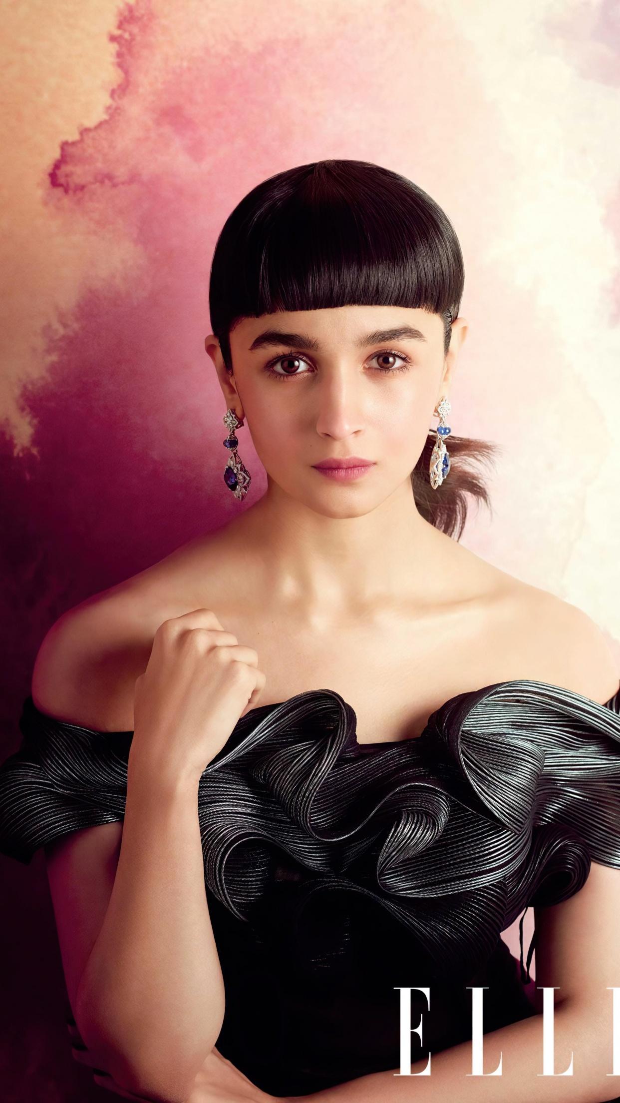 Alia Bhatt Wallpaper 4K, Bollywood actress, Portrait