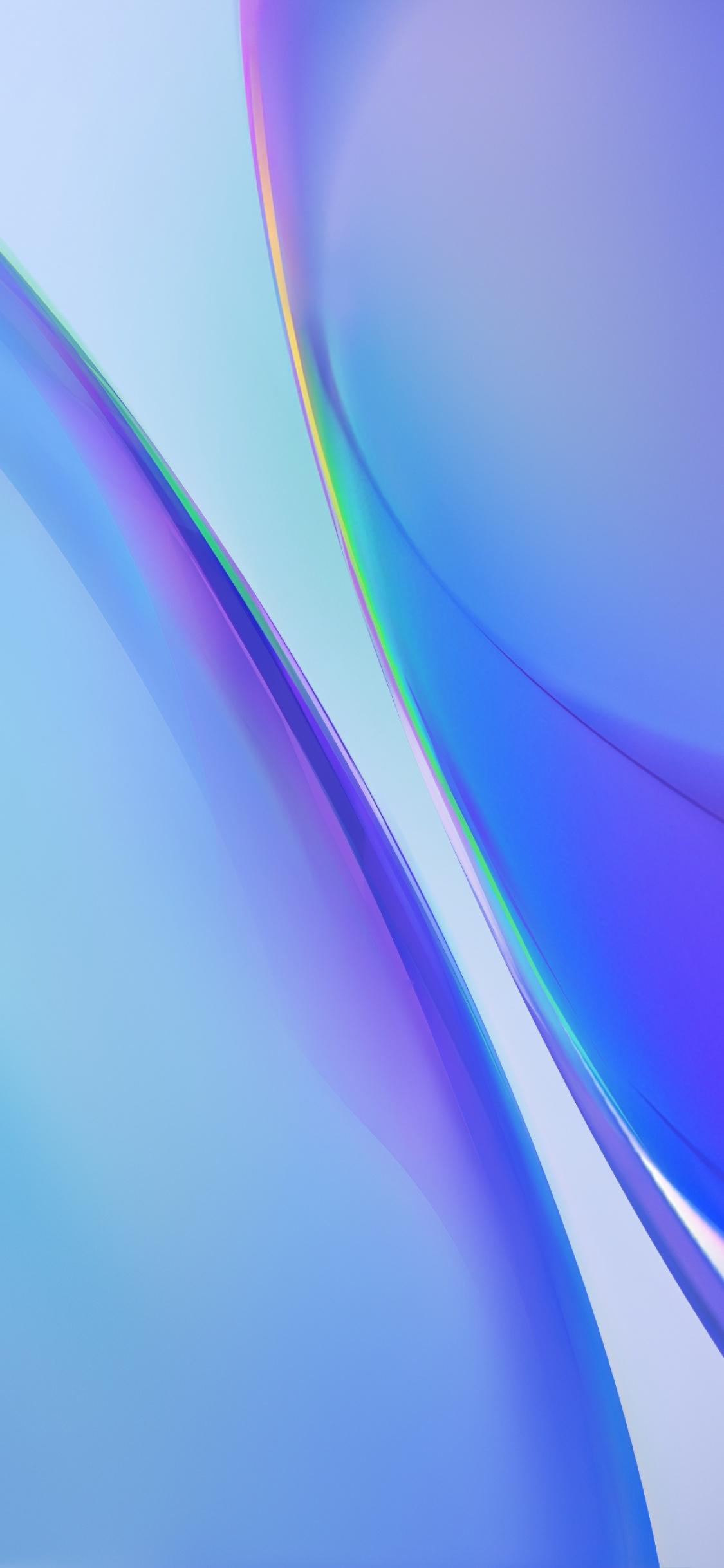 4K Wallpaper Android 10, Stock, Vivo NEX, Gradients, Blue ...