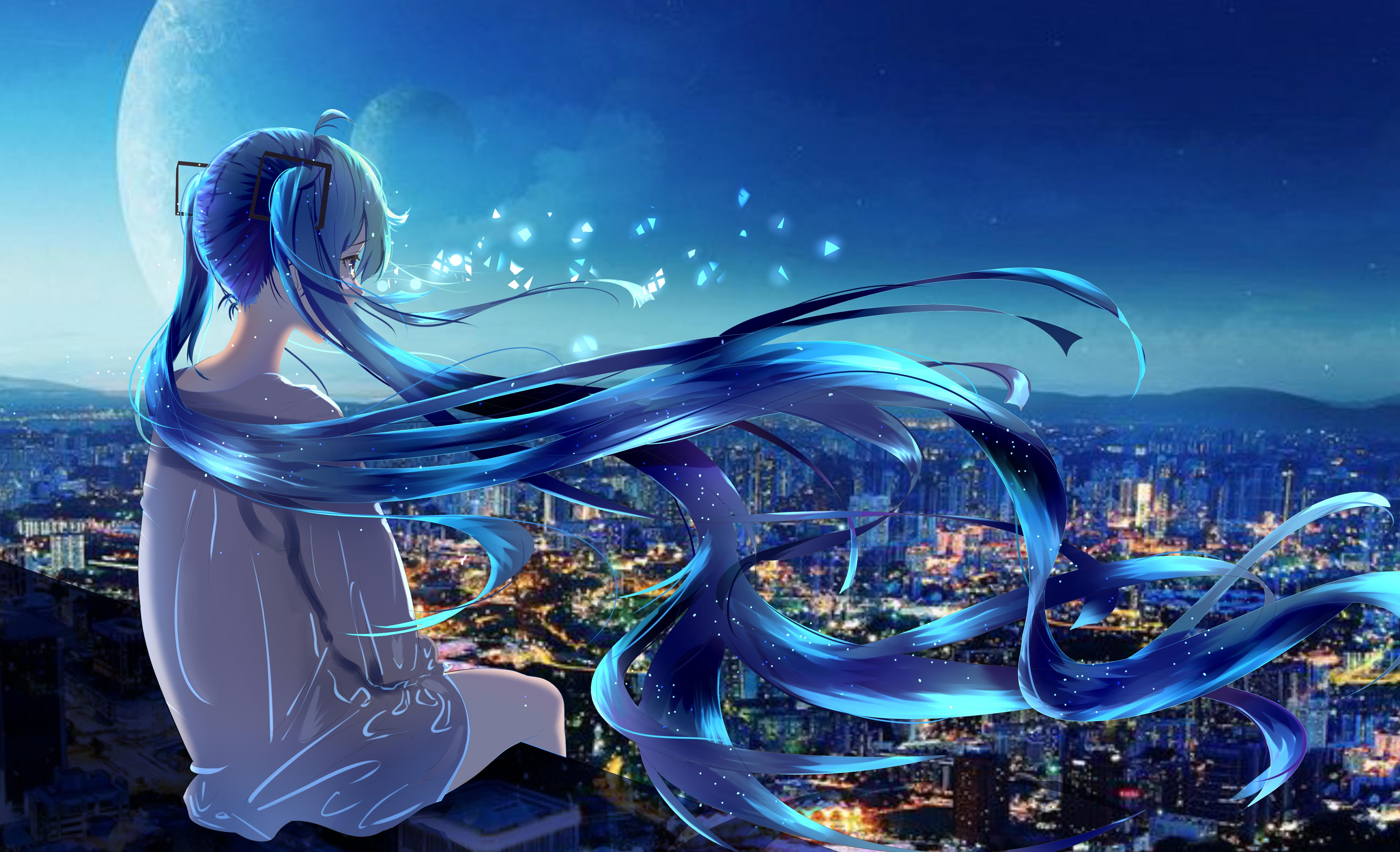 4K Wallpaper Anime girl, Alone, Fantasy, 5K, Fantasy, #3