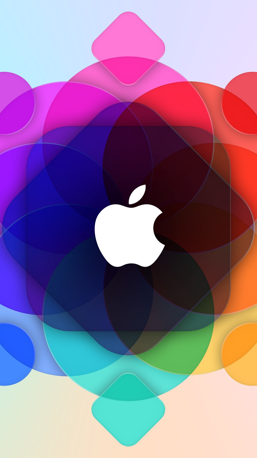 Apple Logo 4k Wallpaper Wwdc Colorful Gradient Background 5k Technology 1565