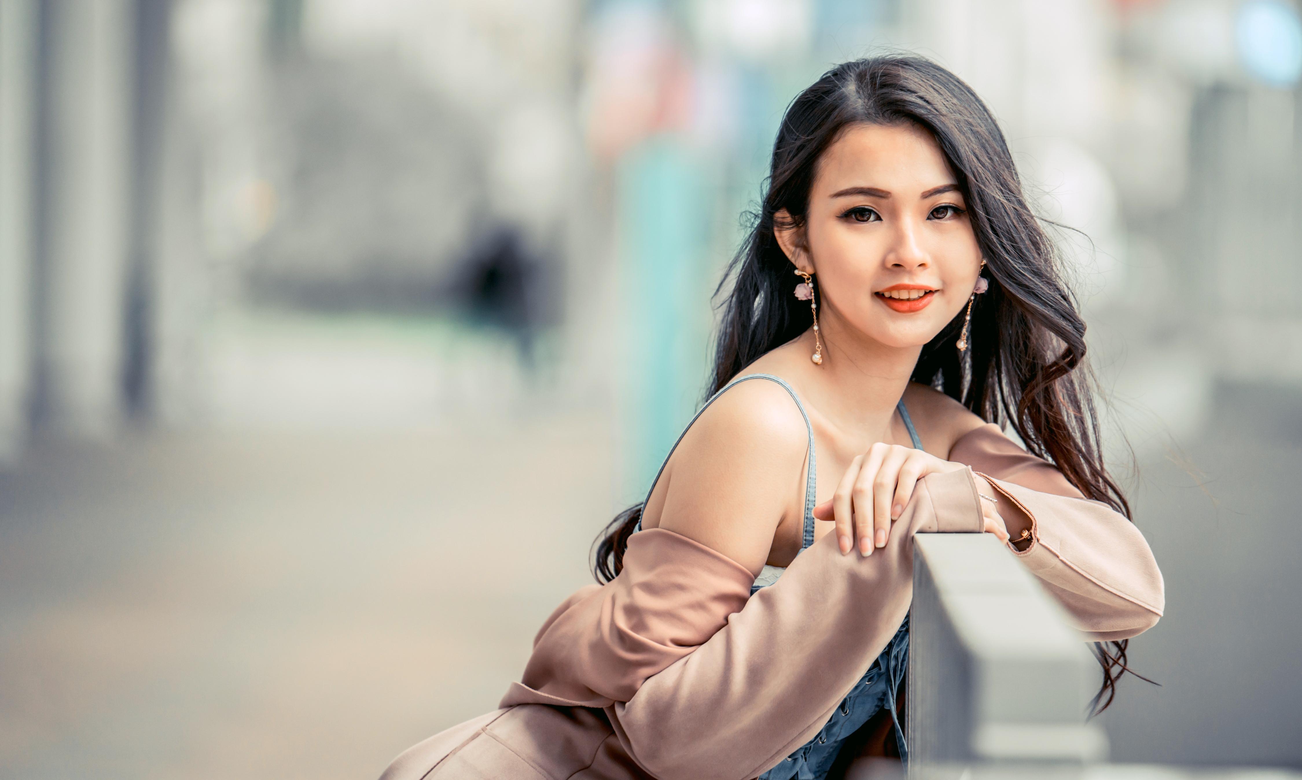 Asian Girl 4k Wallpaper Beautiful Girl Asian Woman Cute 5k People 1541