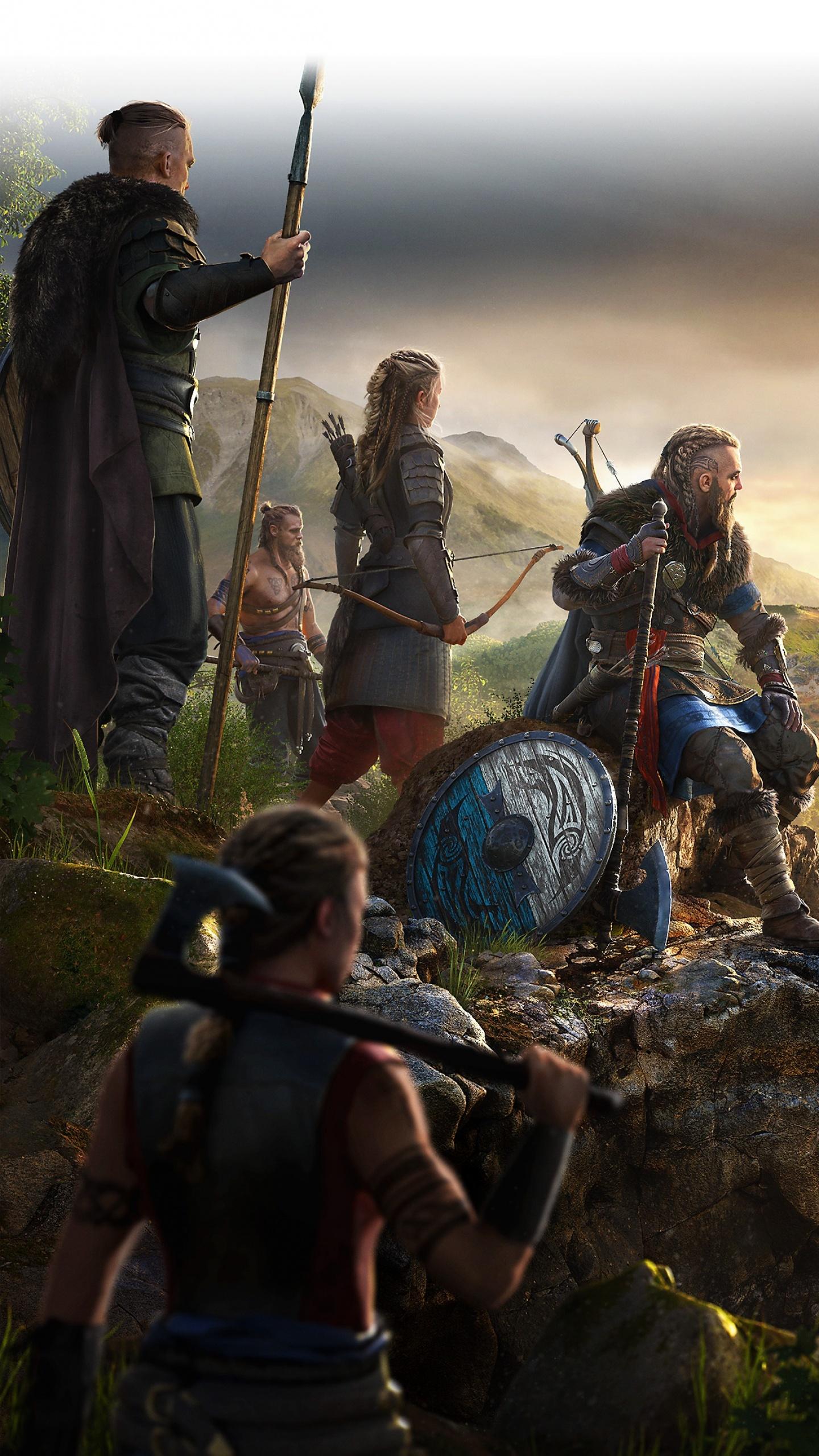 Assassin S Creed Valhalla 4k Wallpaper Vikings Gameplay 2020