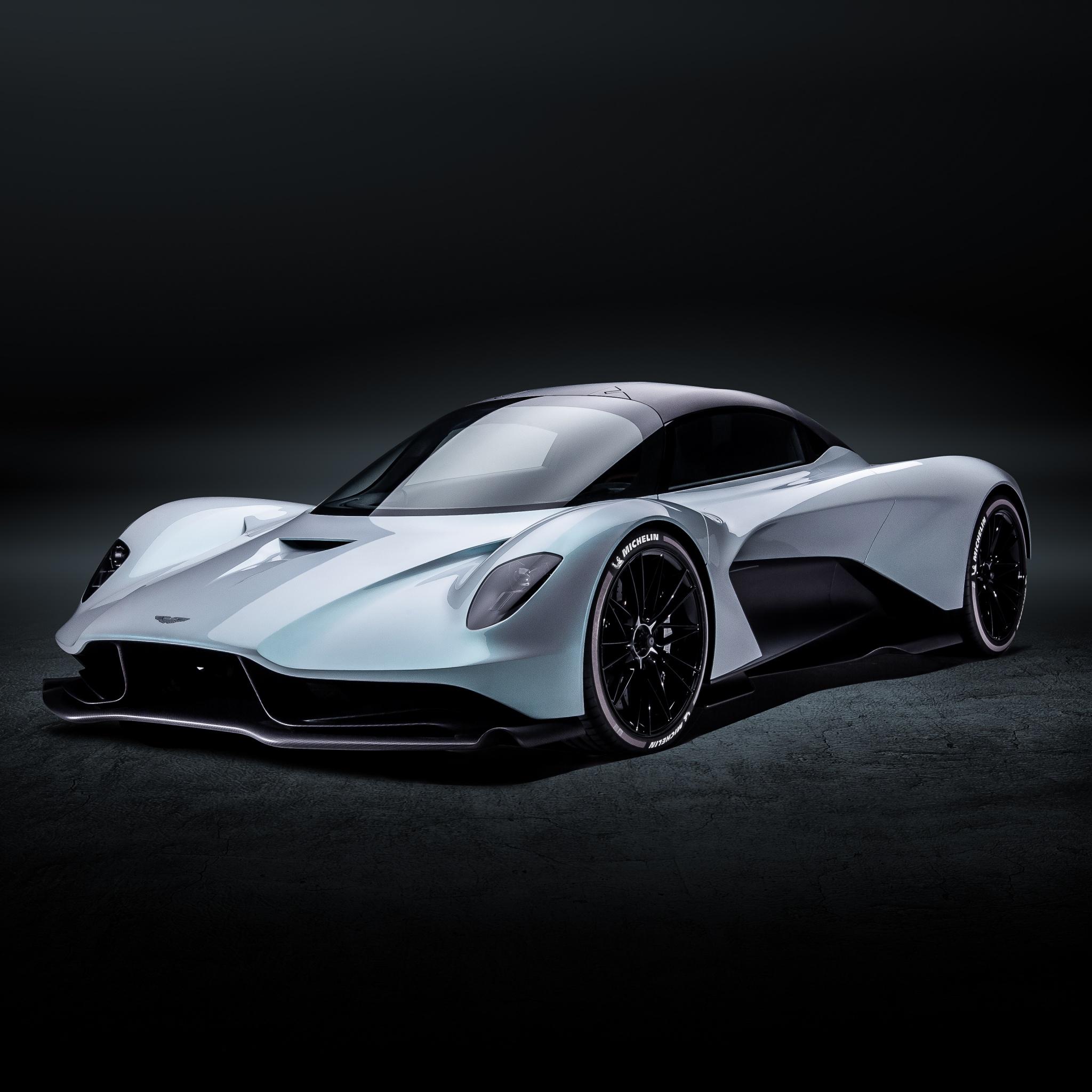 Aston Martin Valhalla 4K Wallpaper, Sports Cars, Red Bull