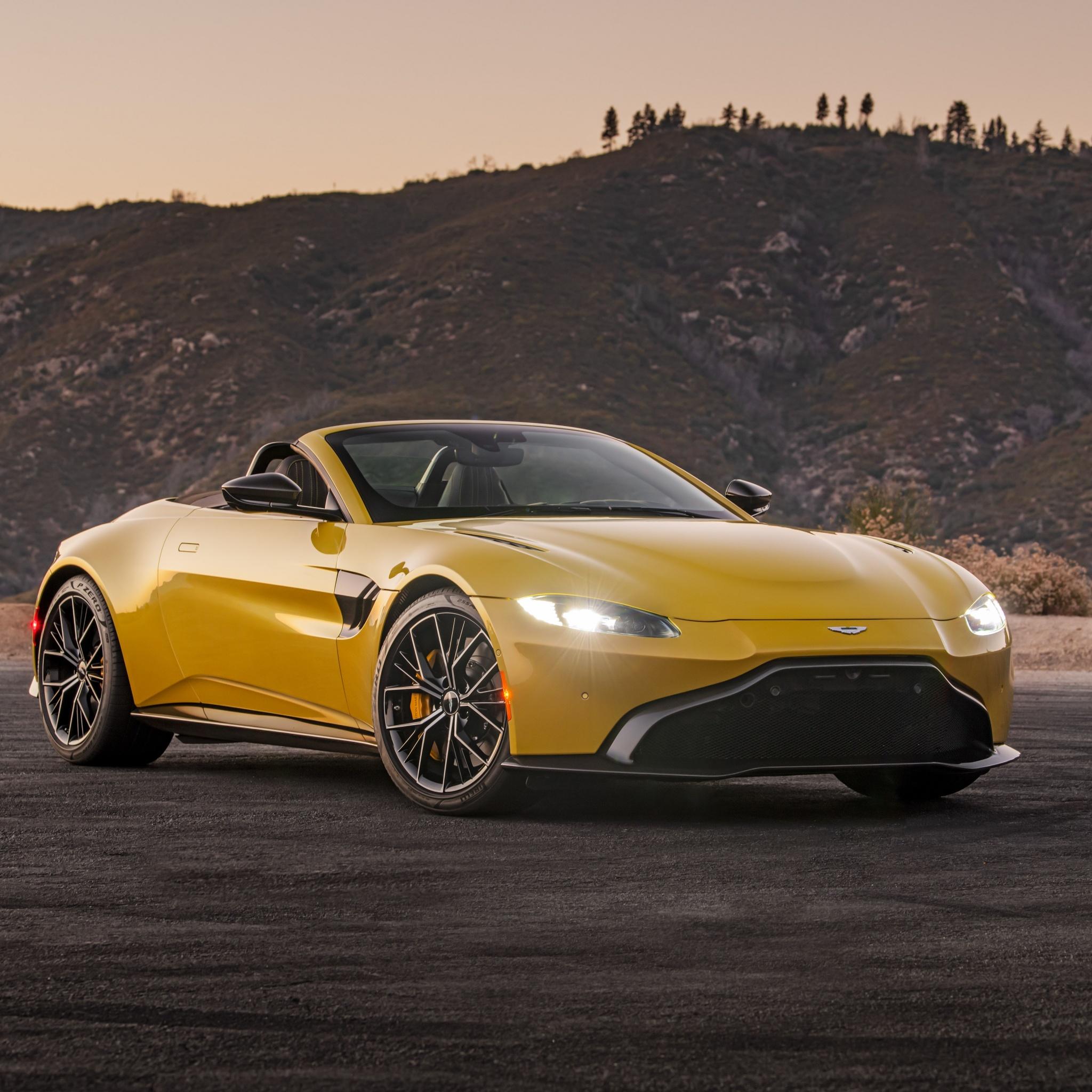 Aston Martin Vantage Roadster 4K Wallpaper, Sports Cars