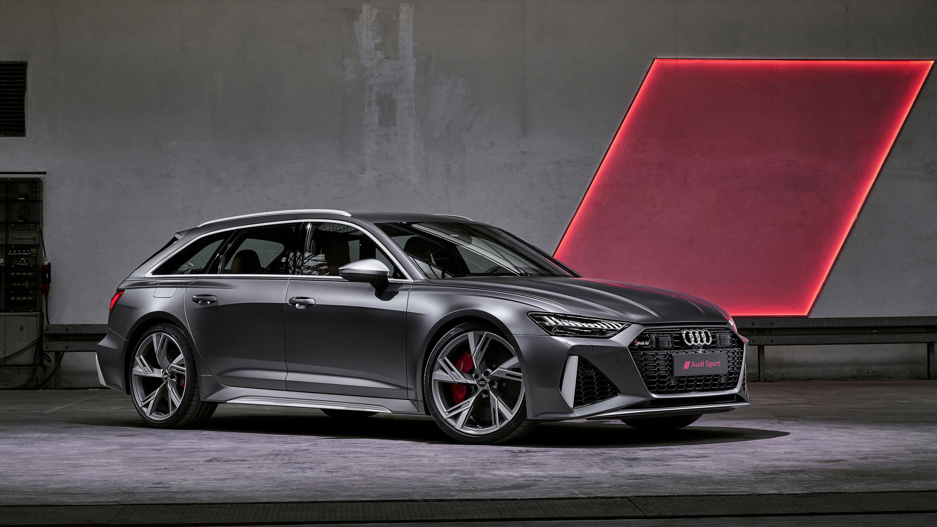 Audi Rs 6 Avant 4k Wallpaper Audi Sport 2020 Black Dark 834