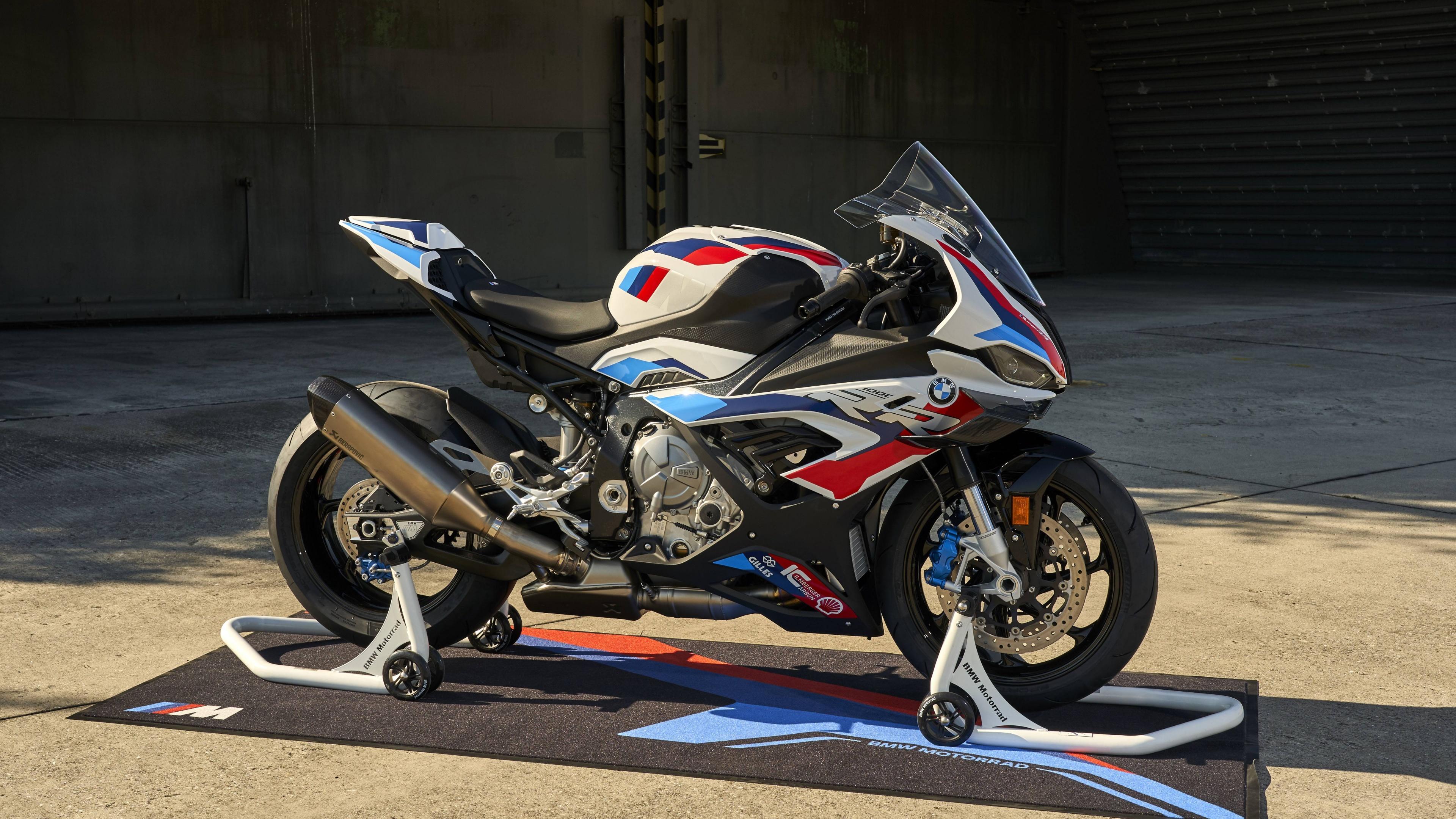 BMW M 1000 RR 4K Wallpaper, Race bikes, 2021, 5K, Bikes, #2755