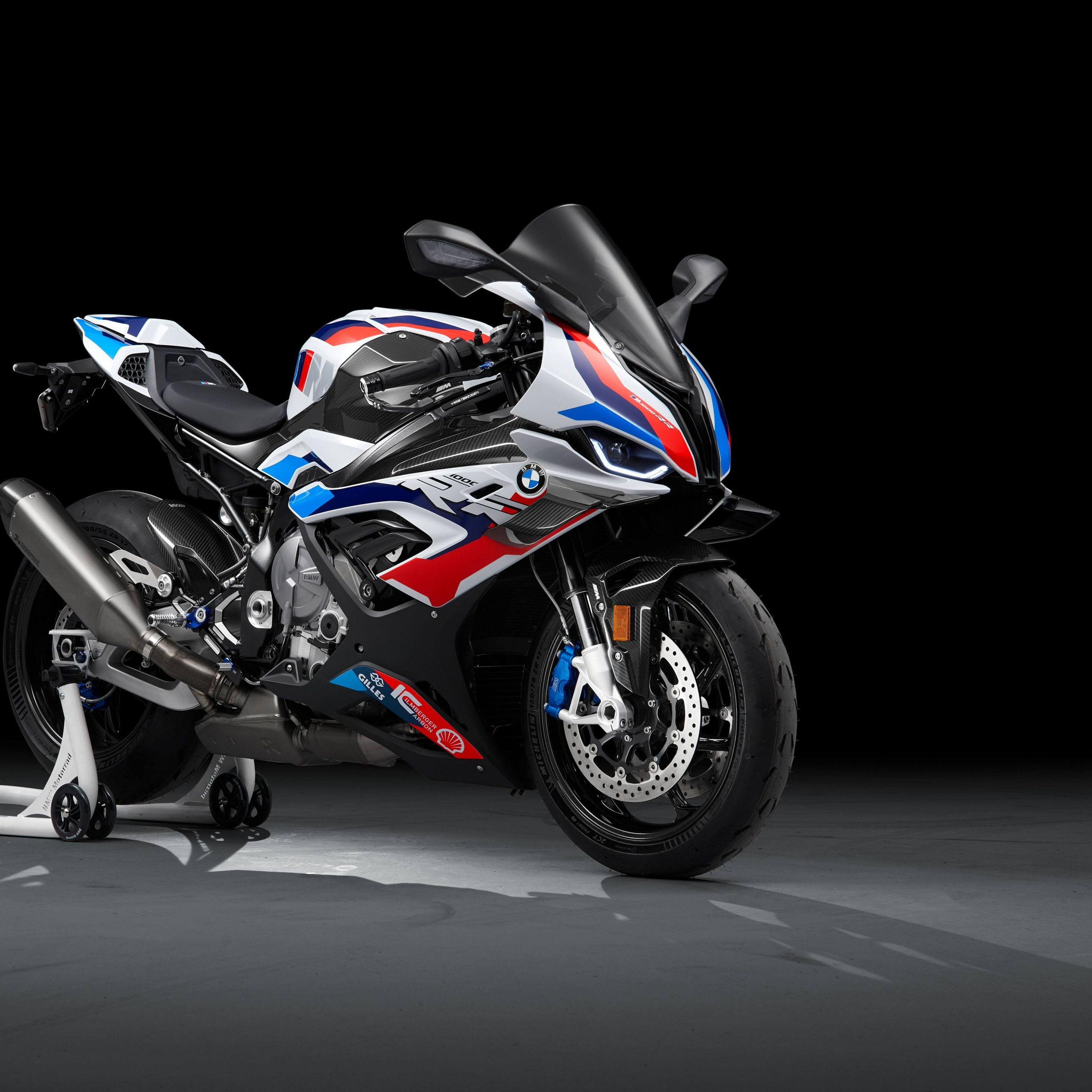 Bmw M 1000 Rr 4k Wallpaper Race Bikes Black Background 2021 5k Bikes 2743