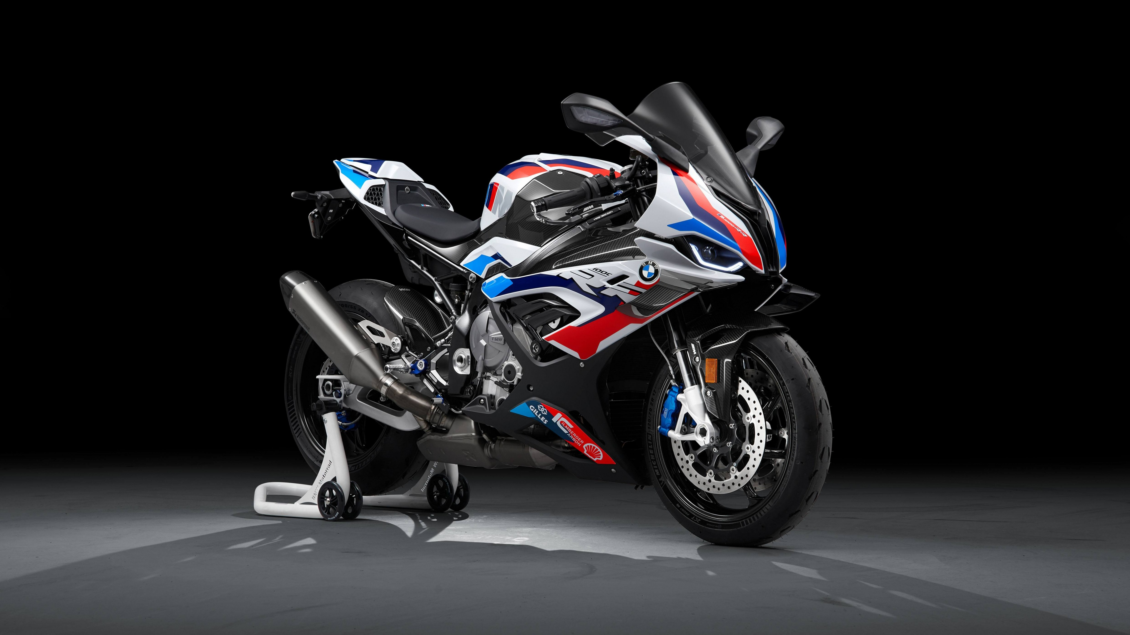 Bmw M 1000 Rr 4k Wallpaper Race Bikes Black Background 2021 5k Bikes 2743