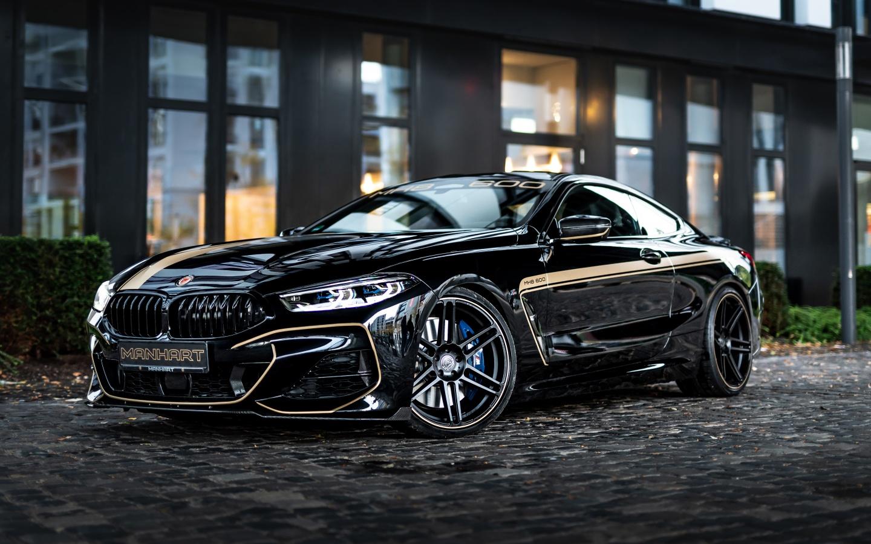 BMW M850i 4K Wallpaper, Manhart Performance, Tuning, Black ...