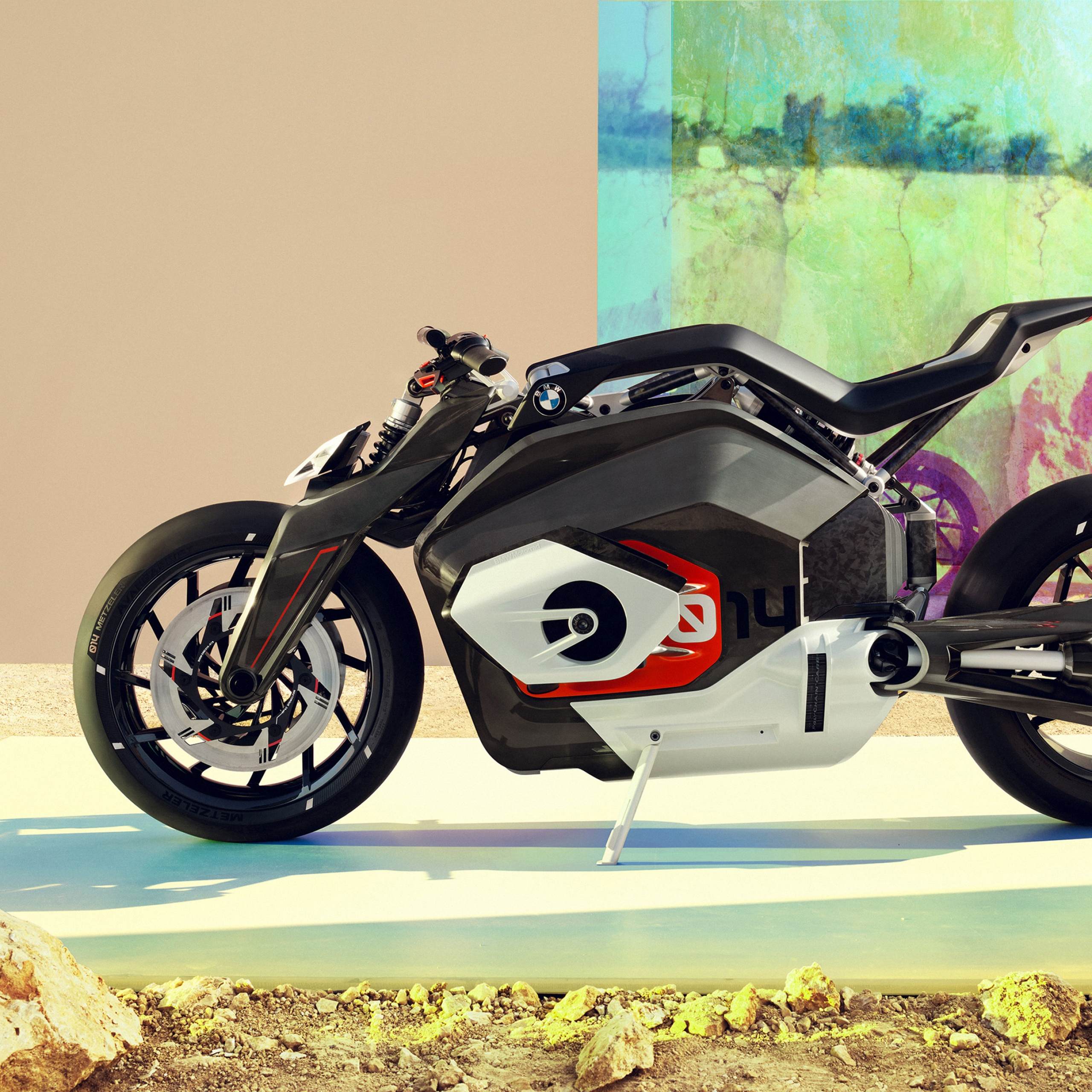 4K Wallpaper BMW Vision DC Roadster, Electric Bikes