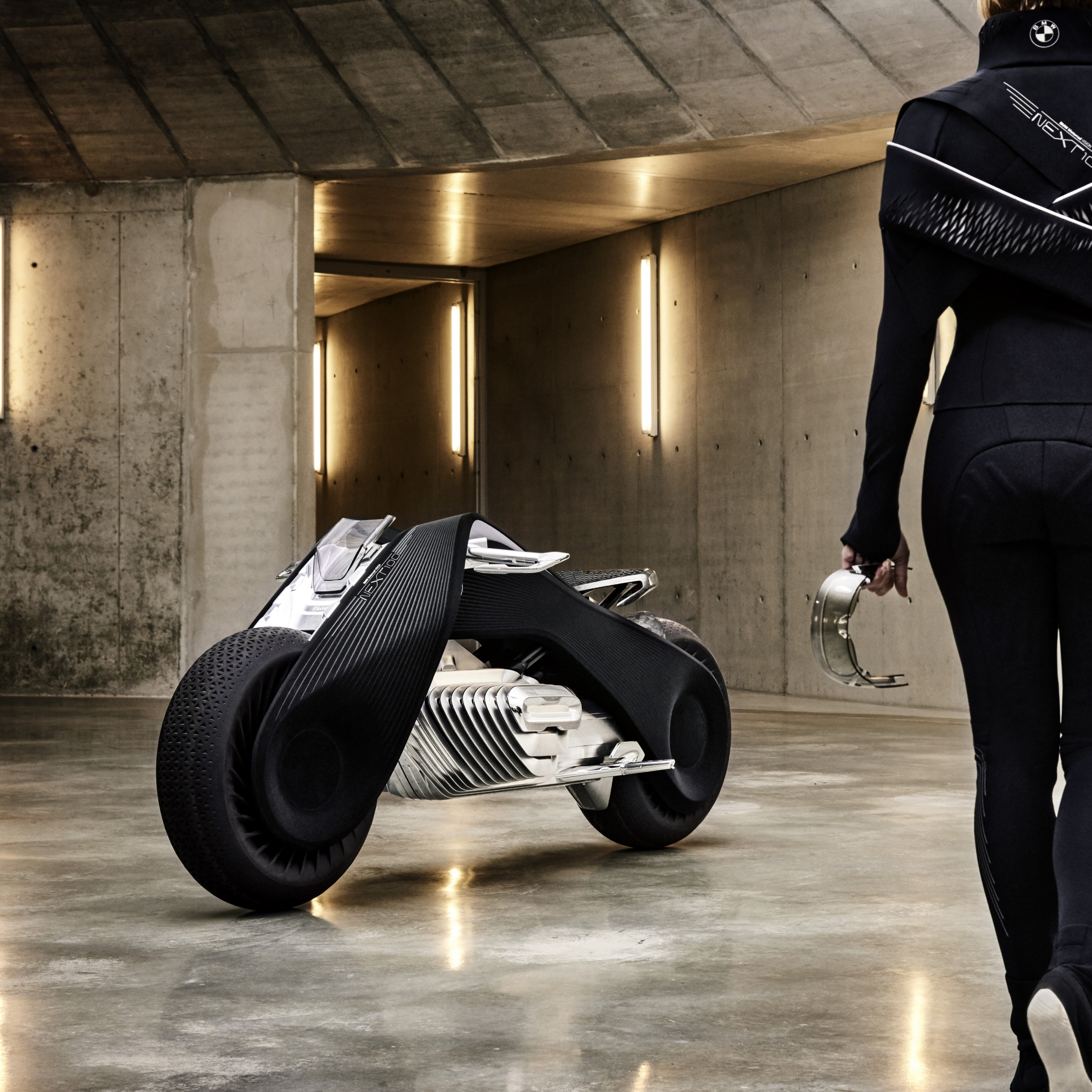 4K Wallpaper BMW VISION NEXT 100, Concept Bikes, Bikes, #889