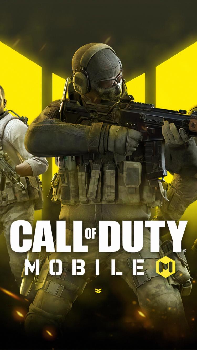 iphone call of duty logo wallpaper