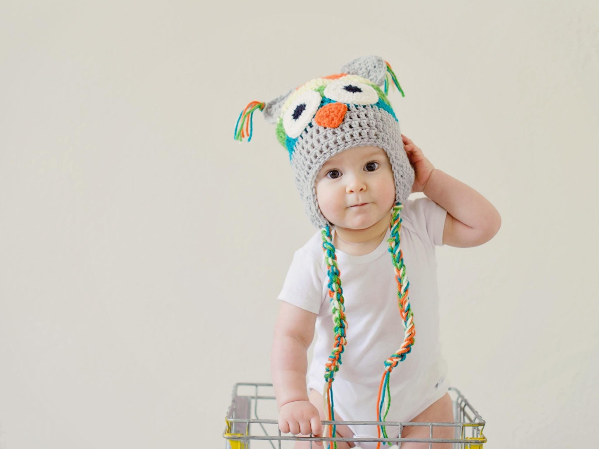 Cute Boy 4k Wallpaper Toddler Cute Kid Adorable Crochet Hat Basket Cute 1172