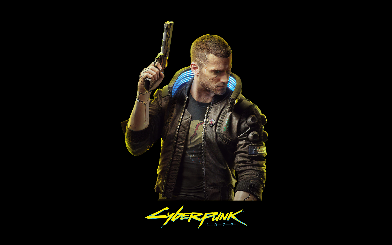 Cyberpunk 2077 4k Wallpaper Black Background Pc Games Xbox Series X Playstation 4 Google Stadia Black Dark 2251