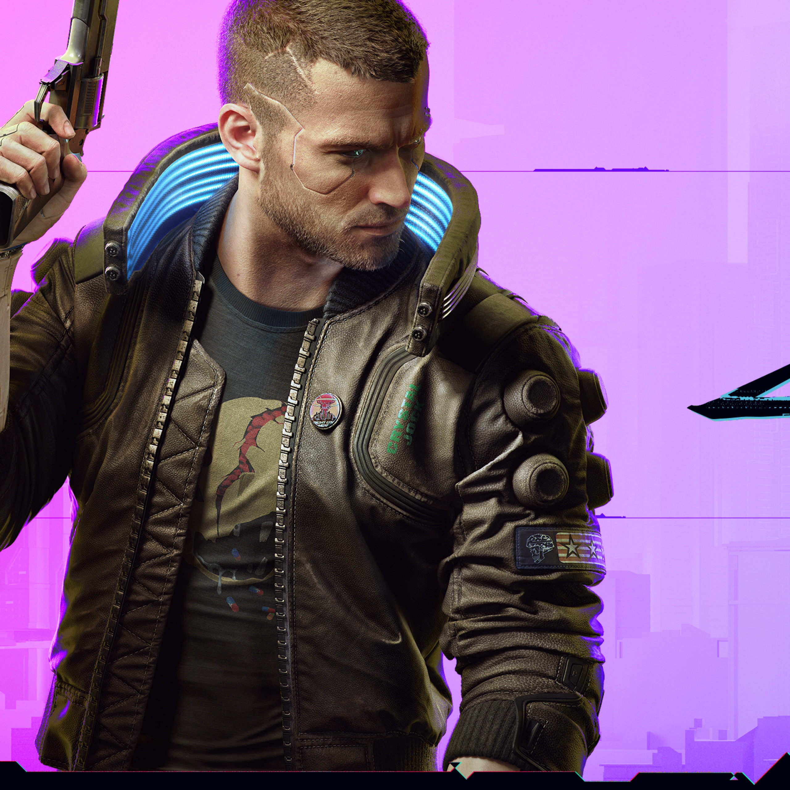 Cyberpunk 2077 4K Wallpaper, Character V, Xbox Series X ...