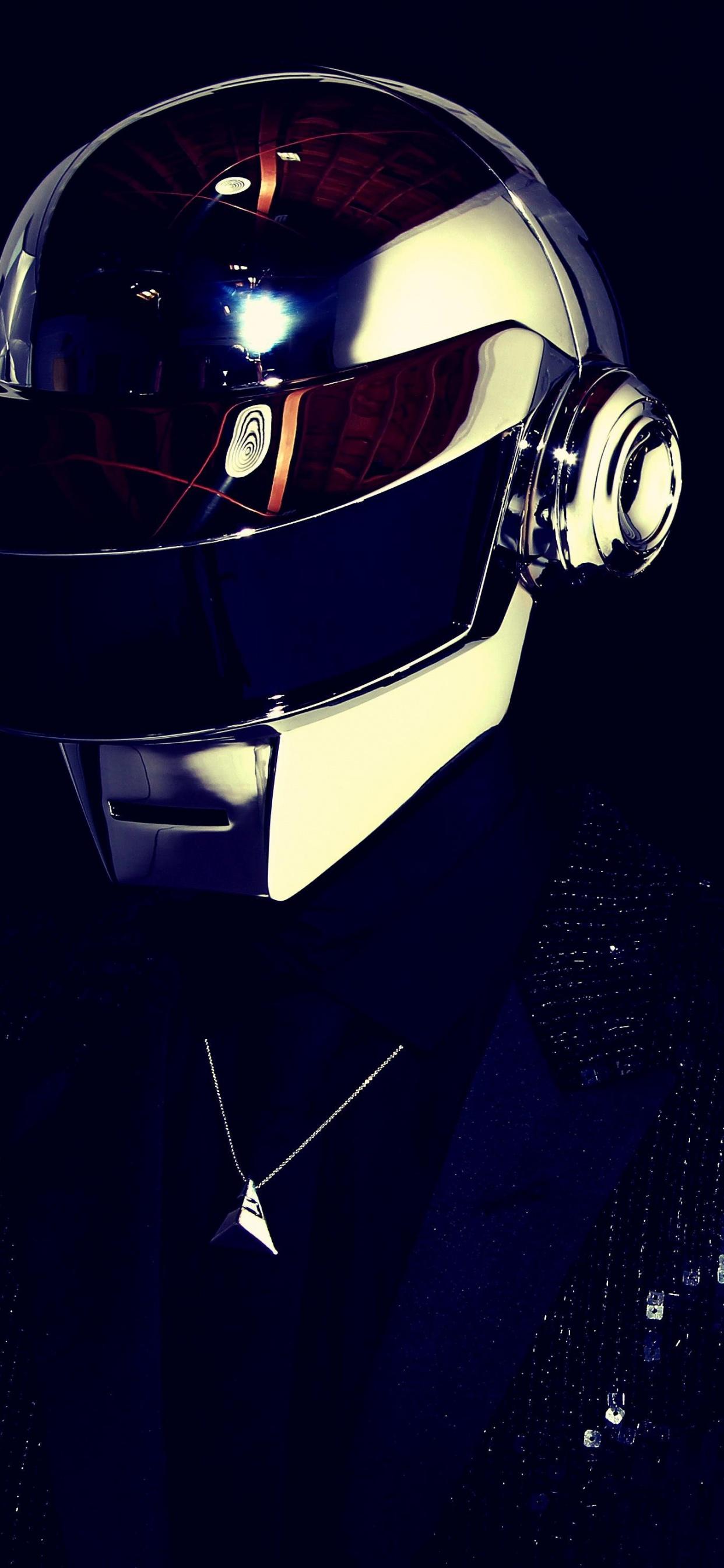 Daft Punk 4K Wallpaper, Electronic music duo, Black ...