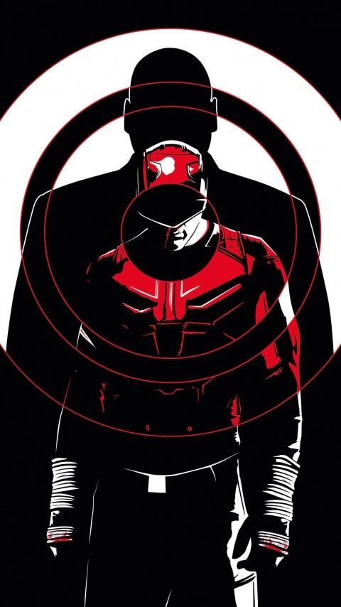 Daredevil 4k Wallpaper Dc Comics Dc Superheroes Amoled Black Background Graphics Cgi 2649