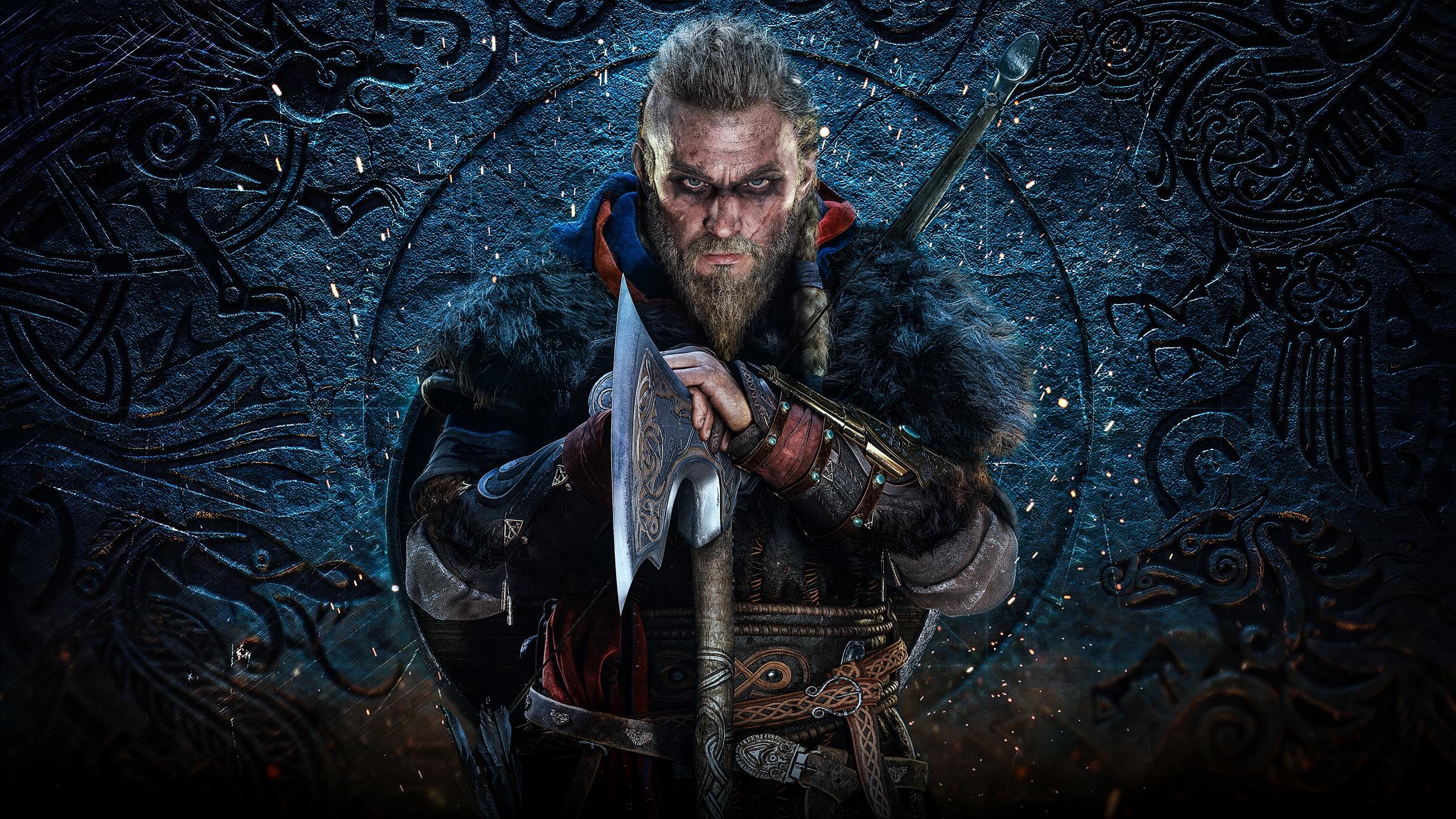 Eivor 4k Wallpaper Assassin S Creed Valhalla Viking Raider Pc Games Playstation 4 Games 1033