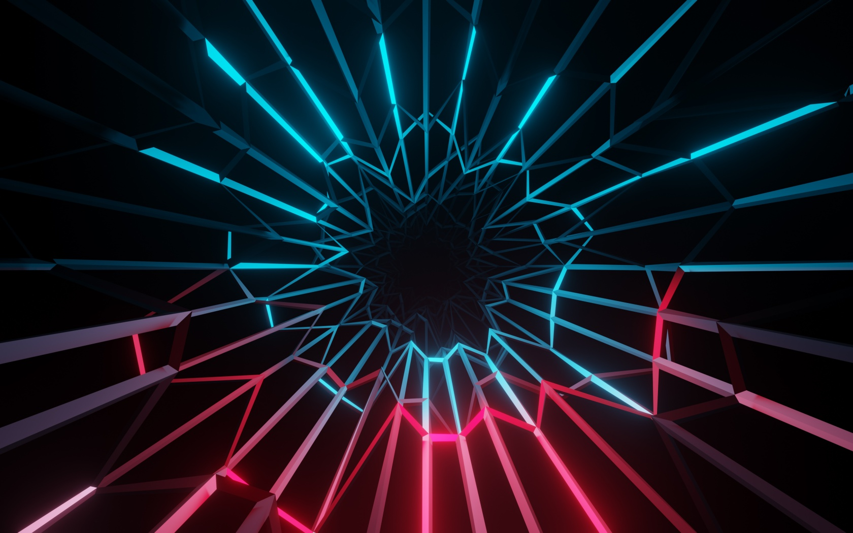 Electric Wallpaper 4K Neon Colorful Dark background
