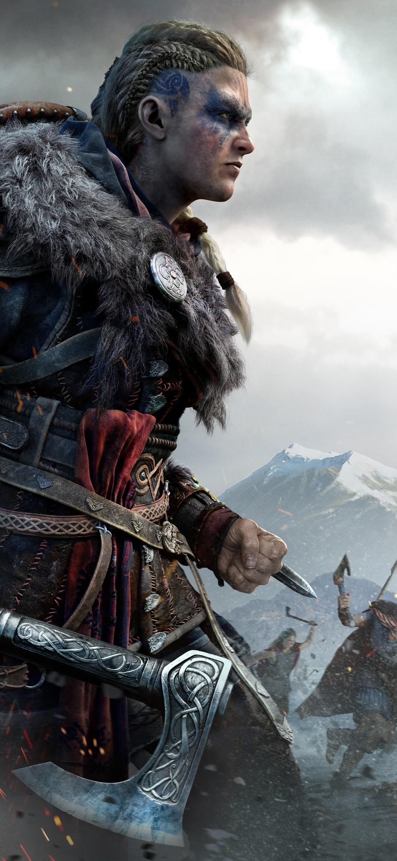 Female Eivor 4k Wallpaper Assassin S Creed Valhalla Pc Games