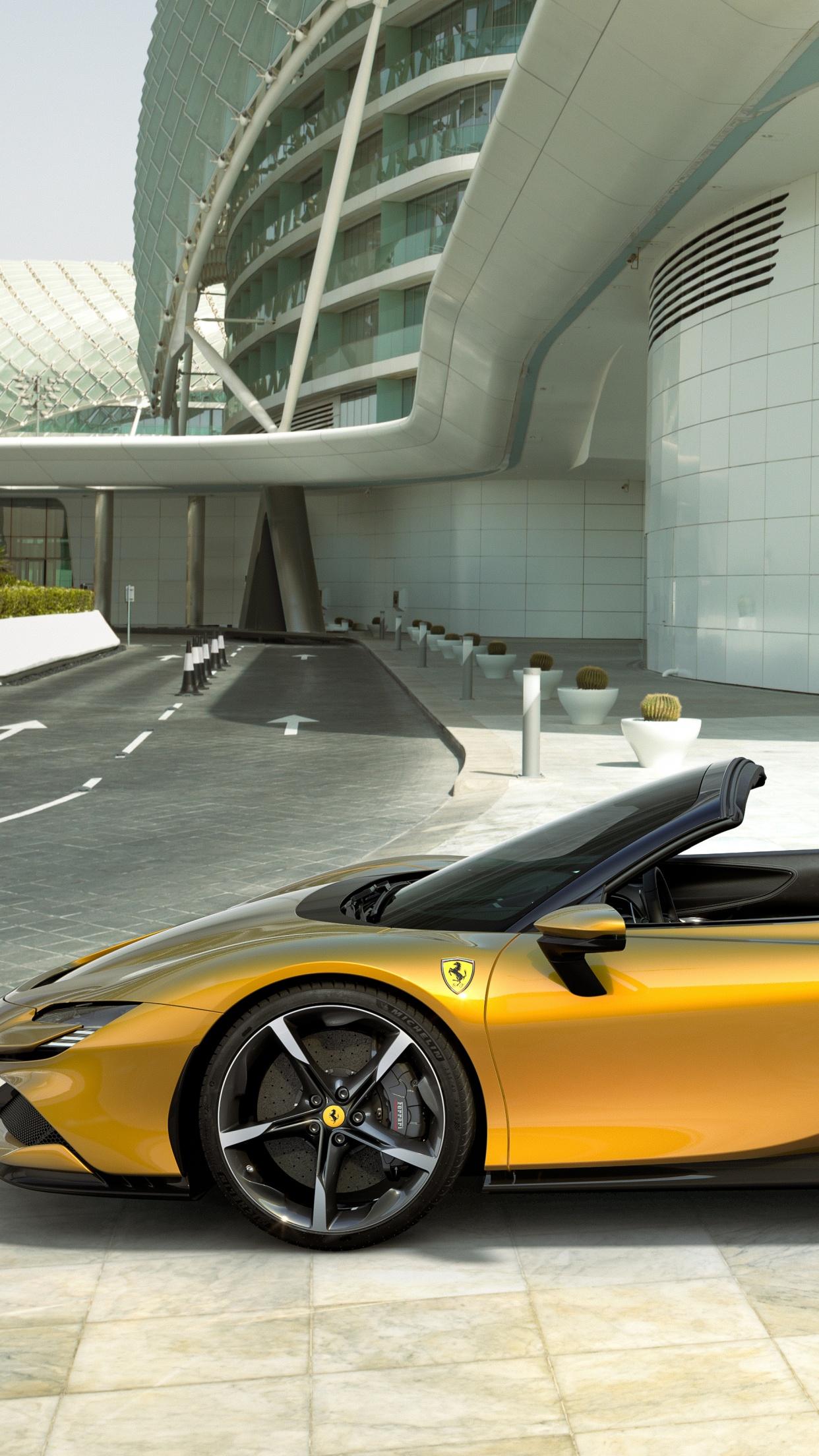Ferrari SF90 Spider 4K Wallpaper, 2021, 5K, Cars, #3400
