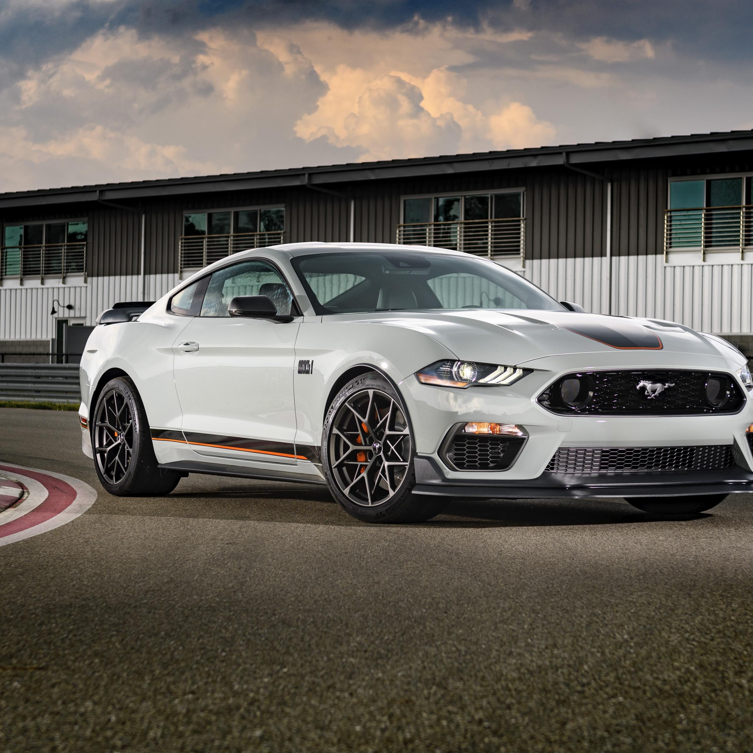 Ford Mustang Mach 1 4K Wallpaper, Handling Package, 2021
