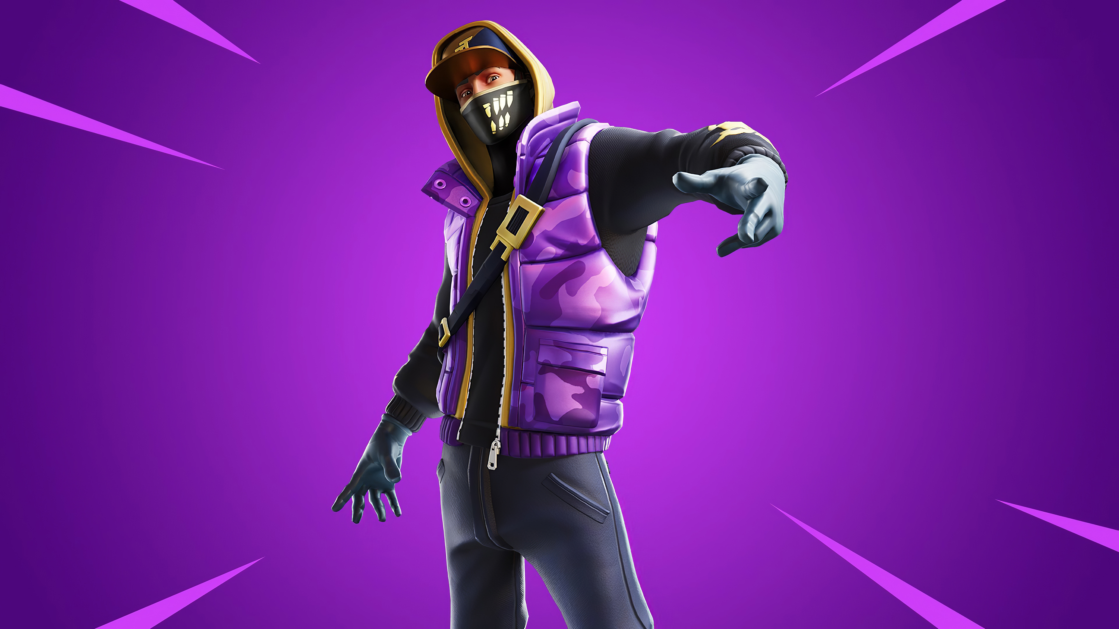 Fortnite 4k Wallpaper Street Striker Outfit Skin Games 488
