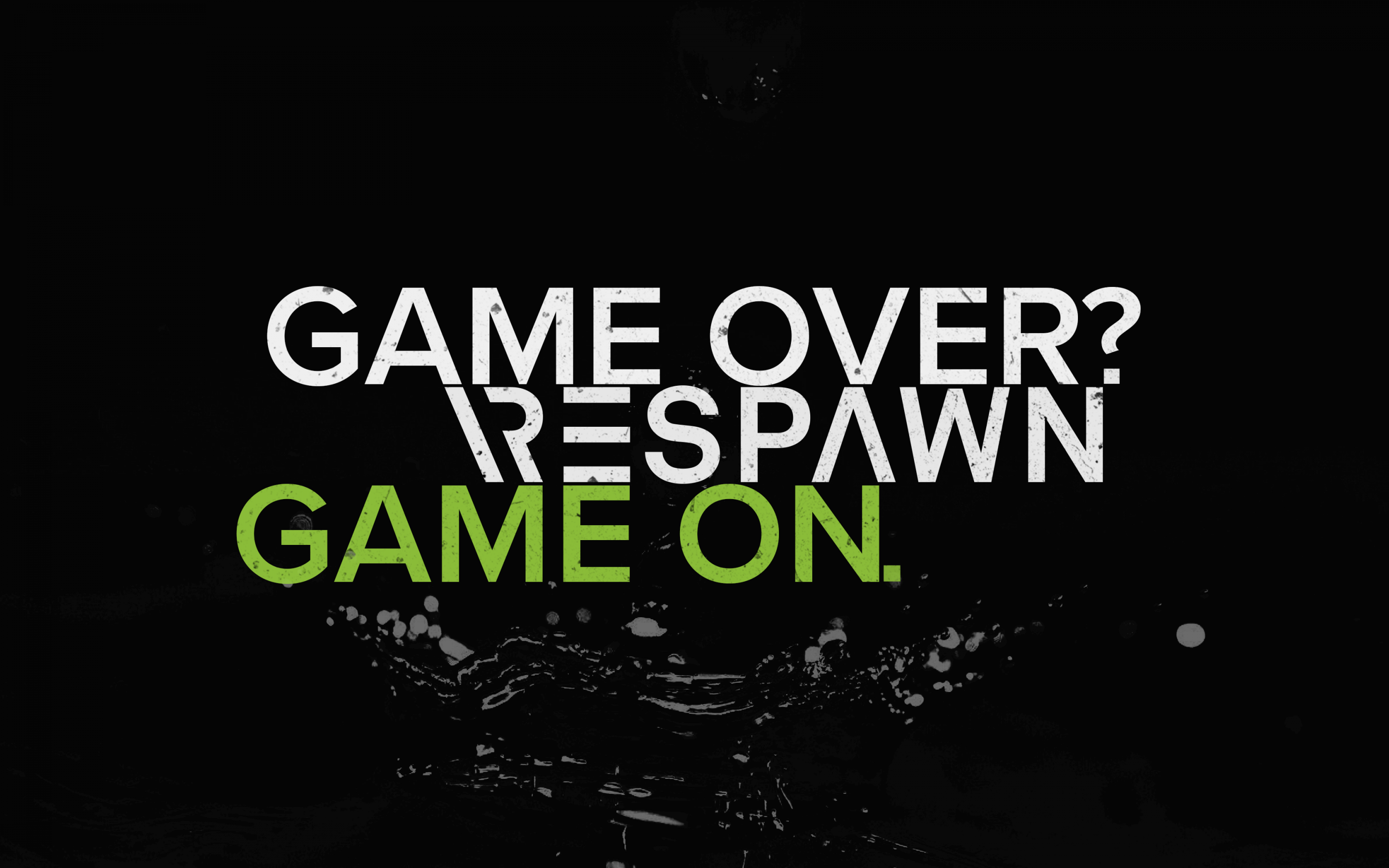 Game Over Wallpaper 4K, Respawn, Game ...