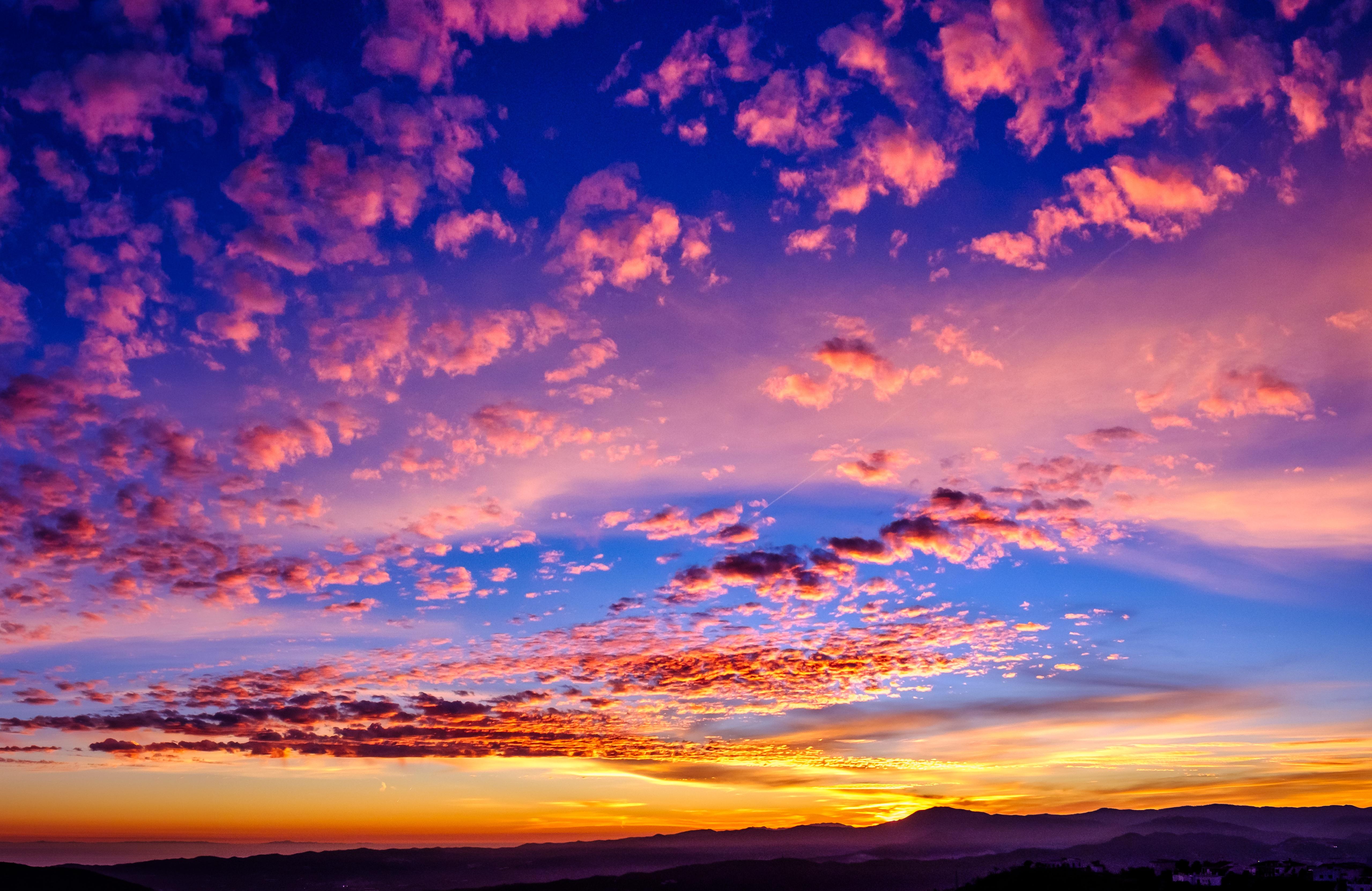 golden hour 4k wallpaper sunset clouds landscape 5k nature 395 4k wallpapers