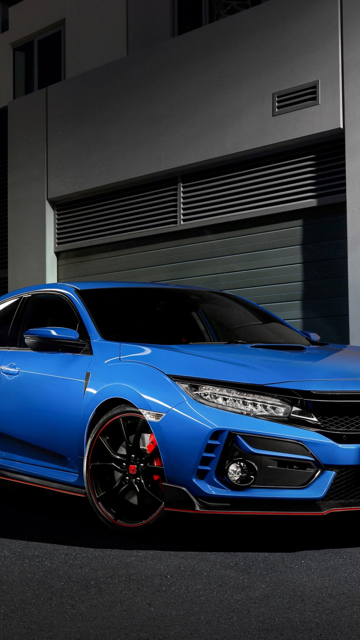 Honda Civic Type R 4k Wallpaper 2021 5k Black Dark 3852