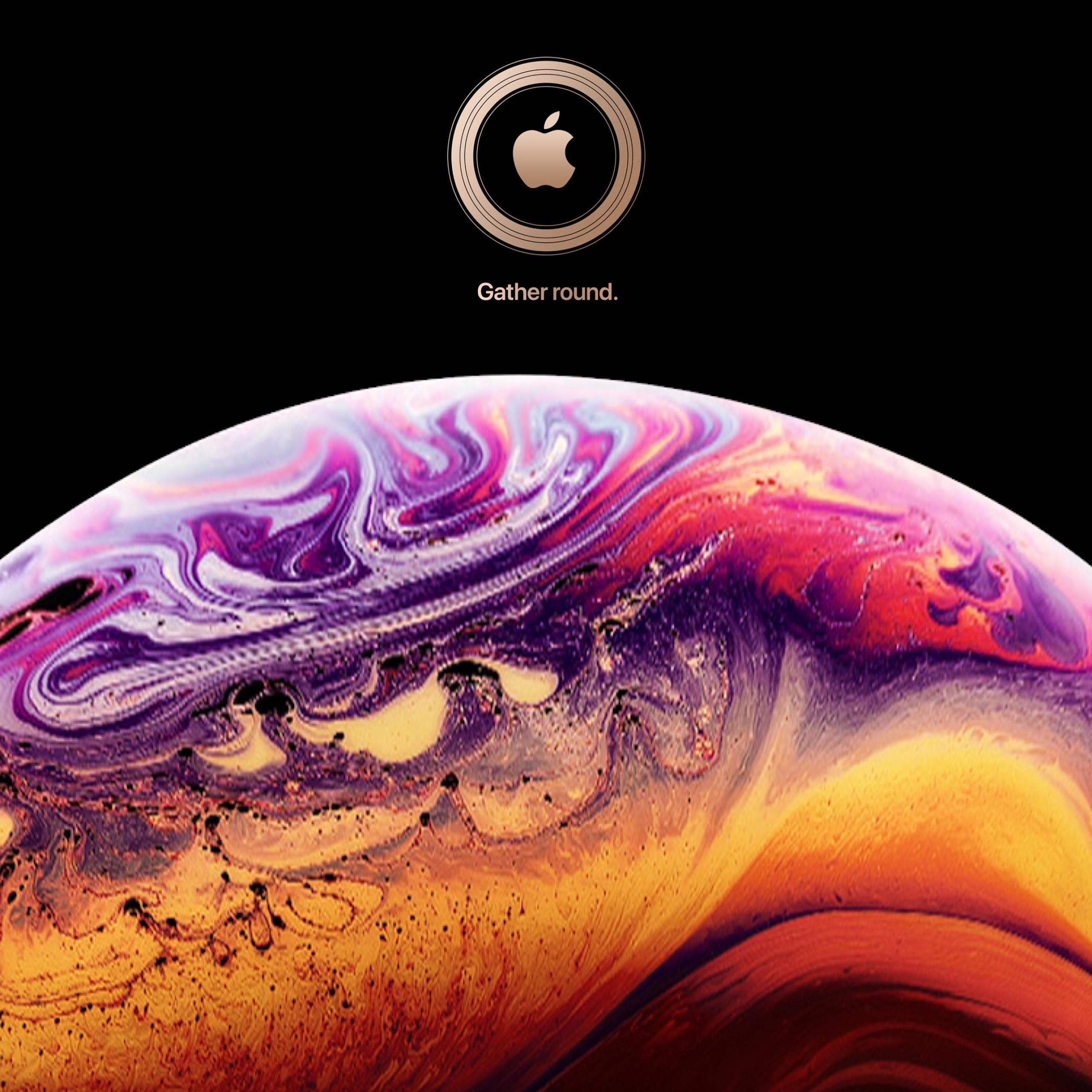 Ios 12 4k Wallpaper Iphone Xs Stock Black Background Technology 1568