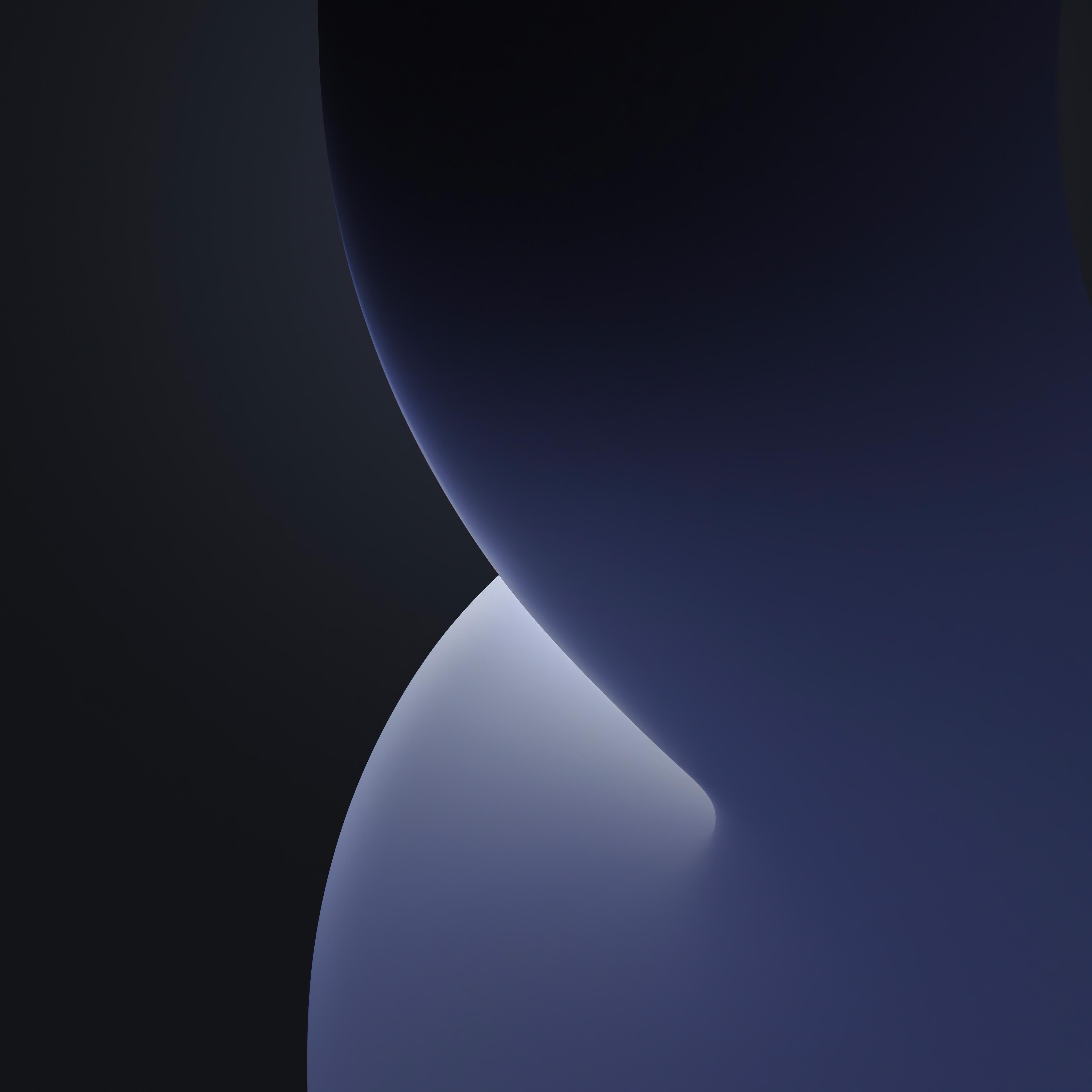 Ios 14 4k Wallpaper Wwdc 2020 Iphone 12 Ipados Dark Grey Stock Black Dark 1447