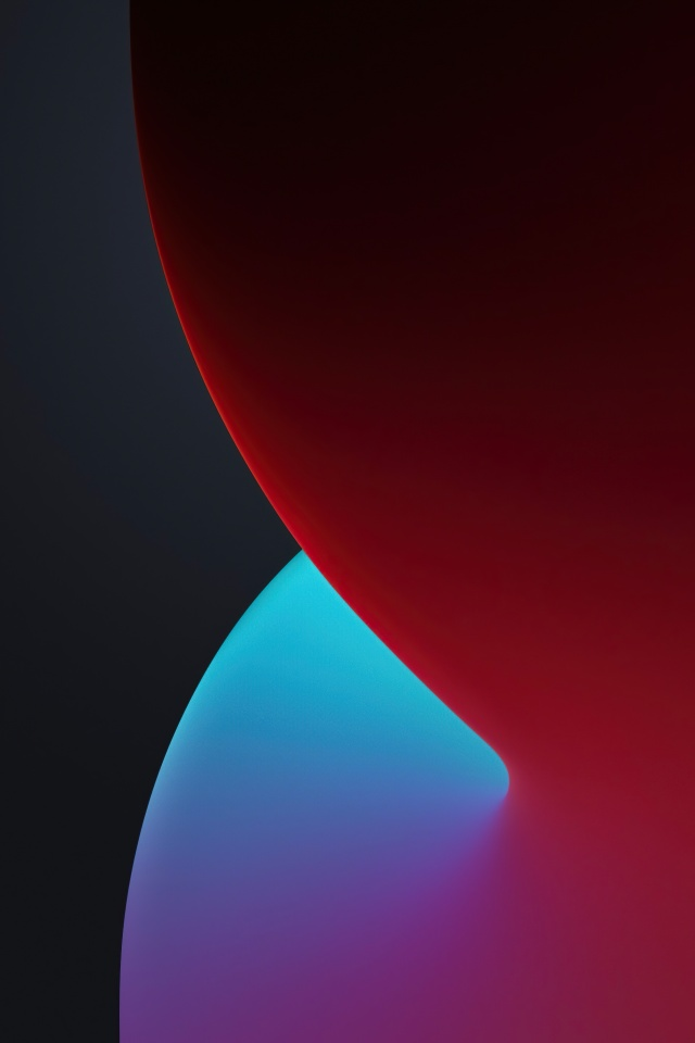 Ios 14 4k Wallpaper Wwdc 2020 Iphone 12 Ipados Dark Red Stock Gradients 1446