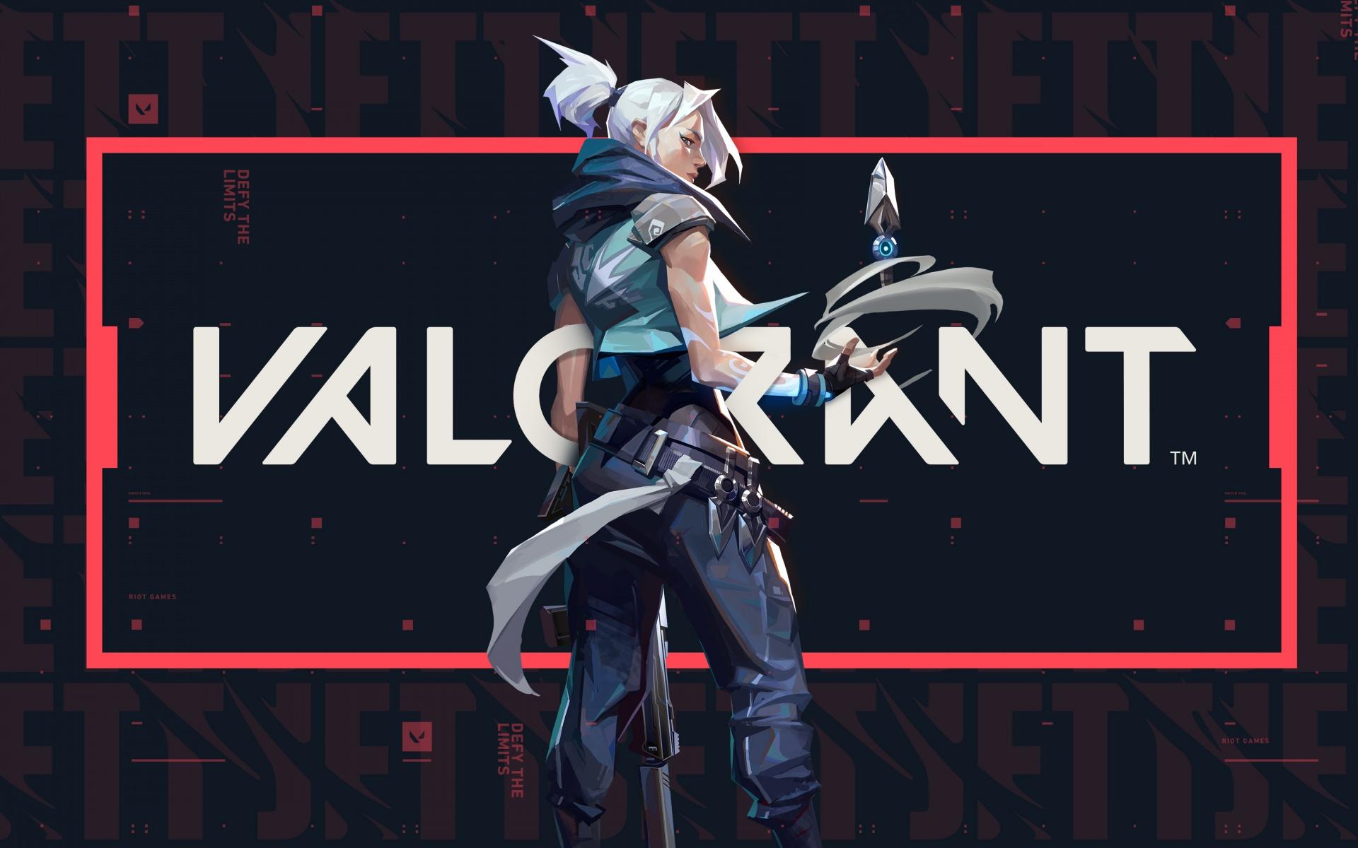 Jett 4k Wallpaper Valorant Pc Games 2020 Games Games 1272