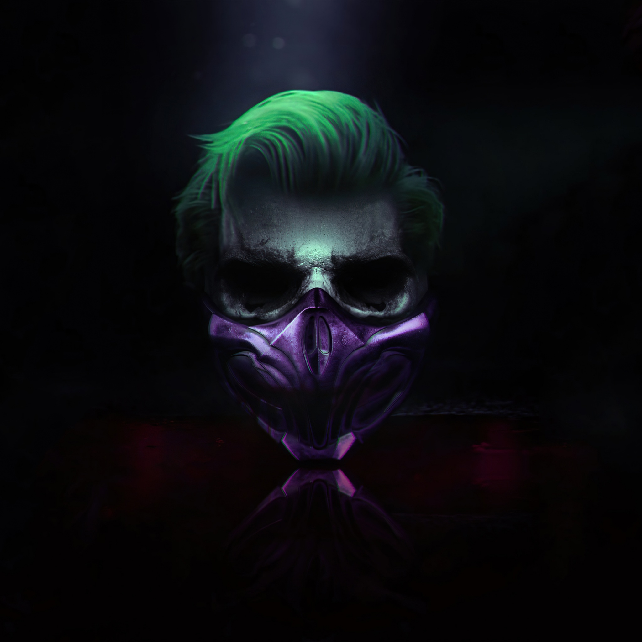 Joker 4k Wallpaper Mask Cyberpunk Dark Background Graphics Cgi 1483