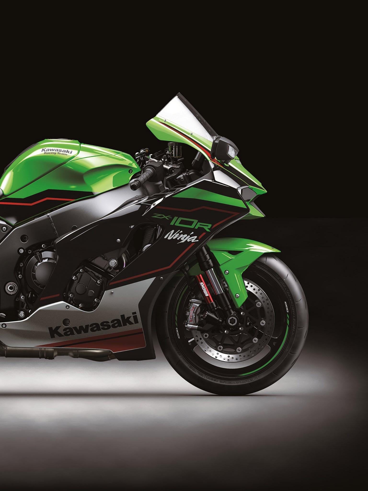 Kawasaki Ninja Zx 10r 4k Wallpaper Sports Bikes 2021 Bikes 3433