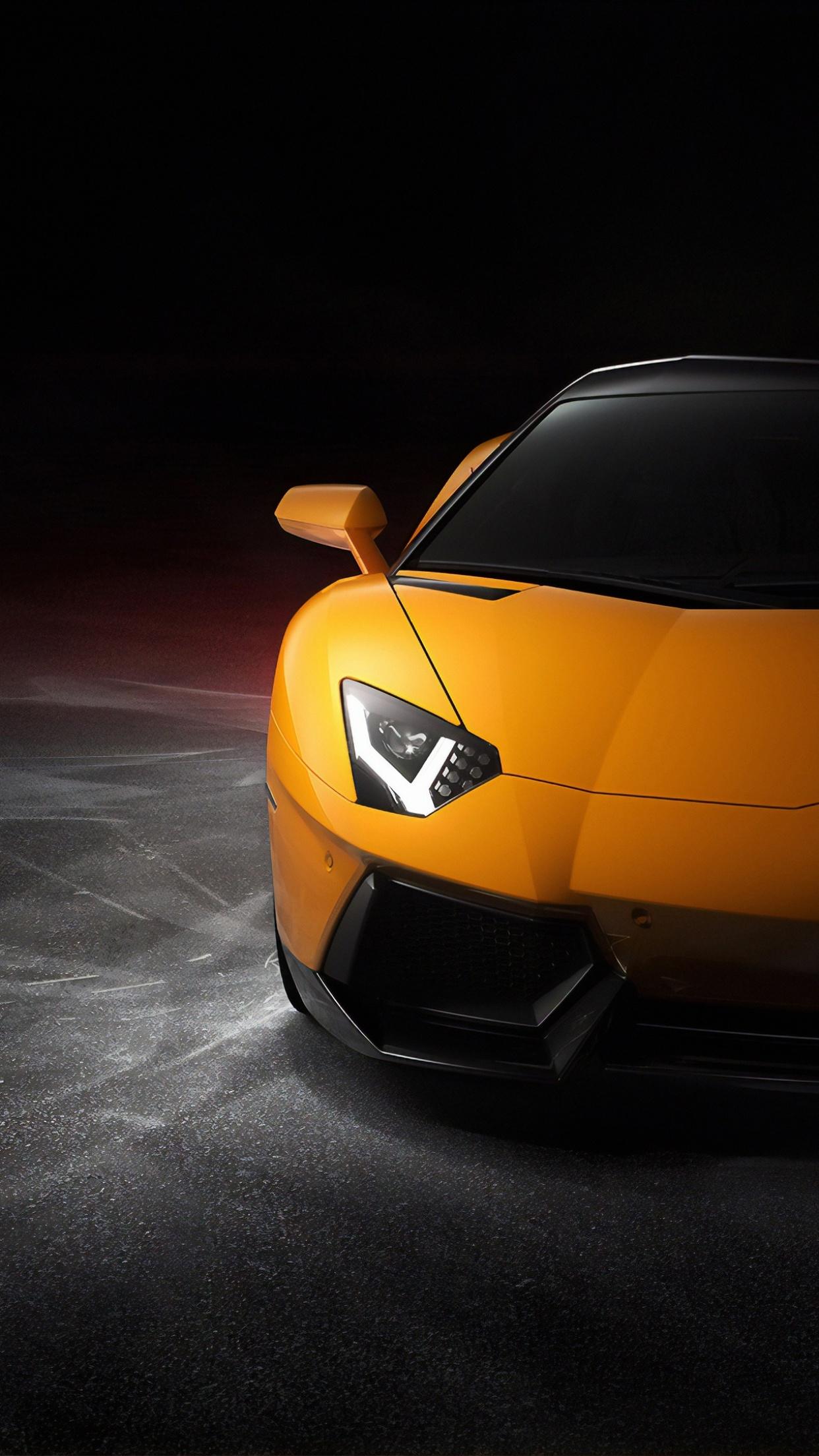 Lamborghini Aventador 4K Wallpaper, Sports cars, Black ...