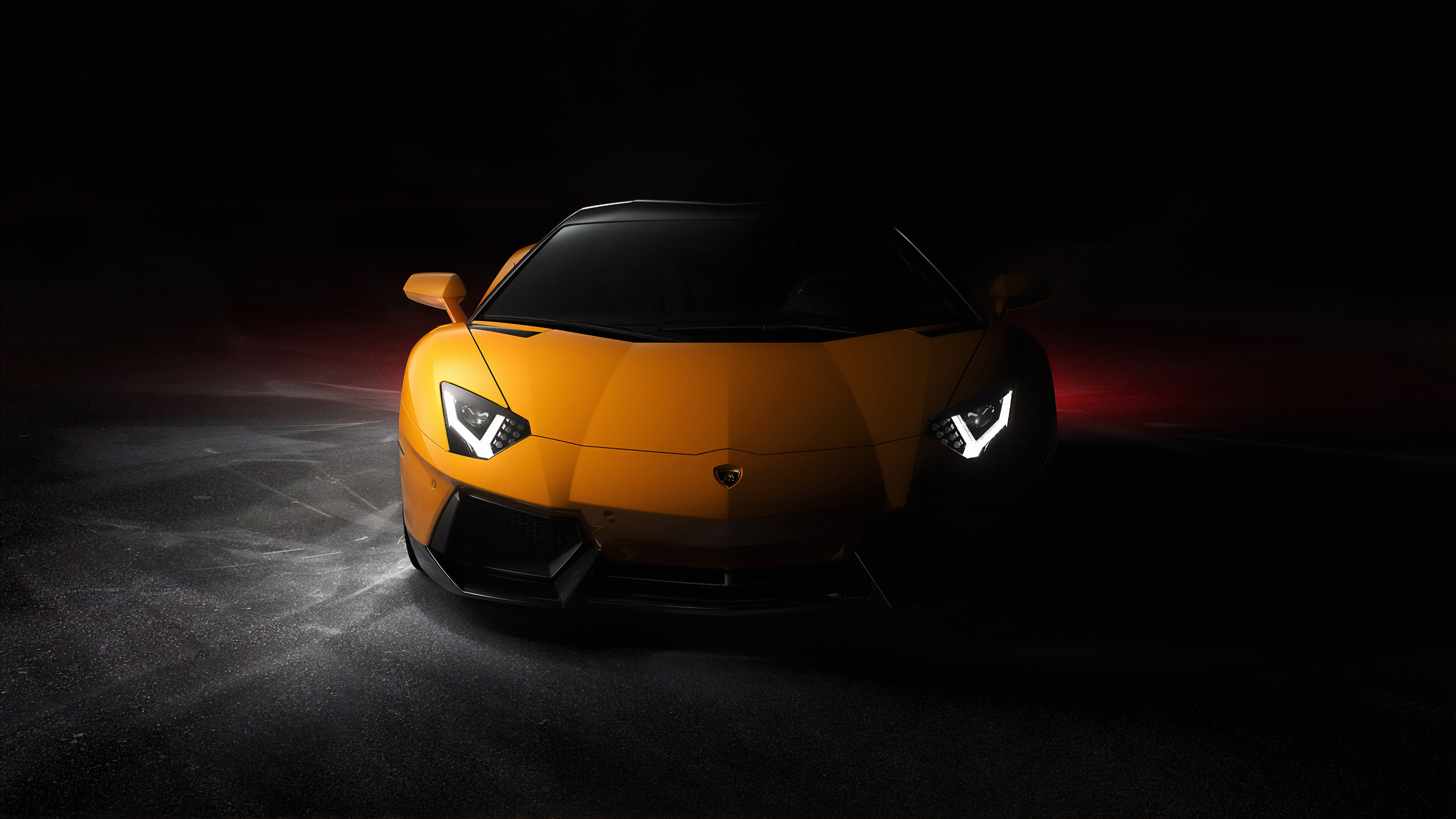 Lamborghini Aventador 4k Wallpaper Sports Cars Black Background Cars 1147