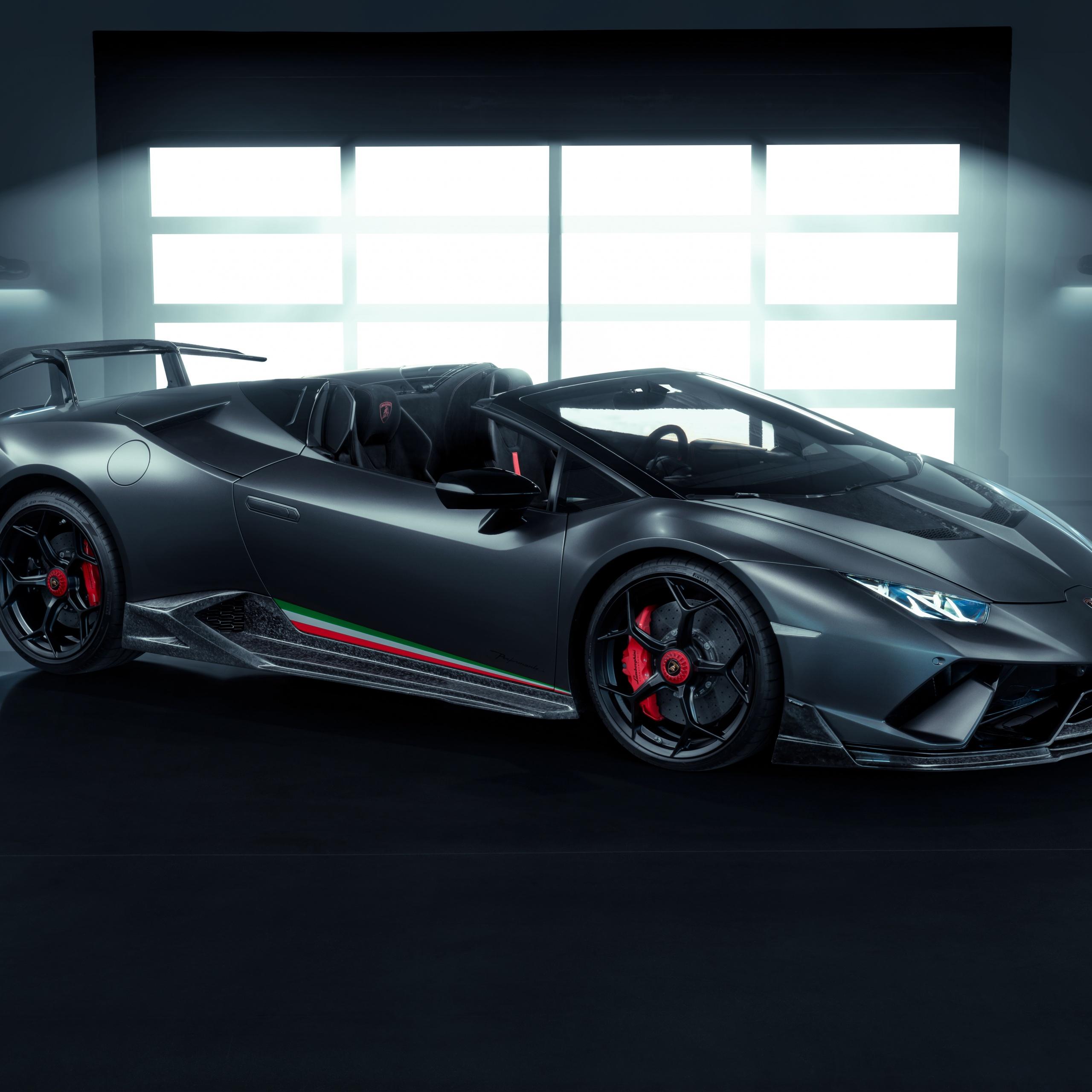 Lamborghini Huracan Performante Spyder Vicenza Edizione 4K