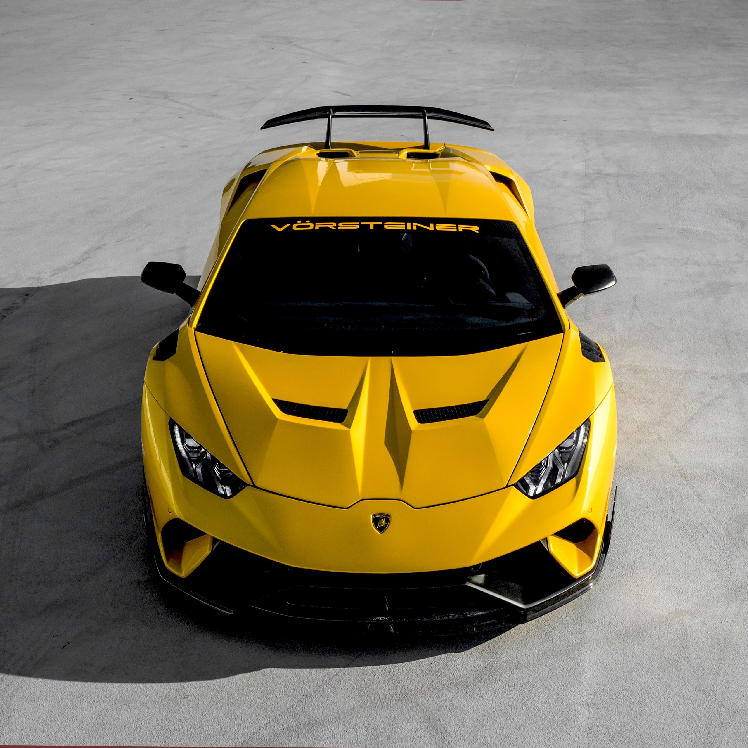 Ferrari F8 Tributo Spyder: Lamborghini Huracan 4K Wallpaper, Vorsteiner, Cars, #173