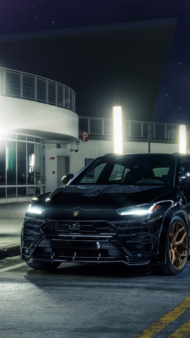 Lamborghini Urus 4K Wallpaper, Black cars, Urban, 5K, 8K ...