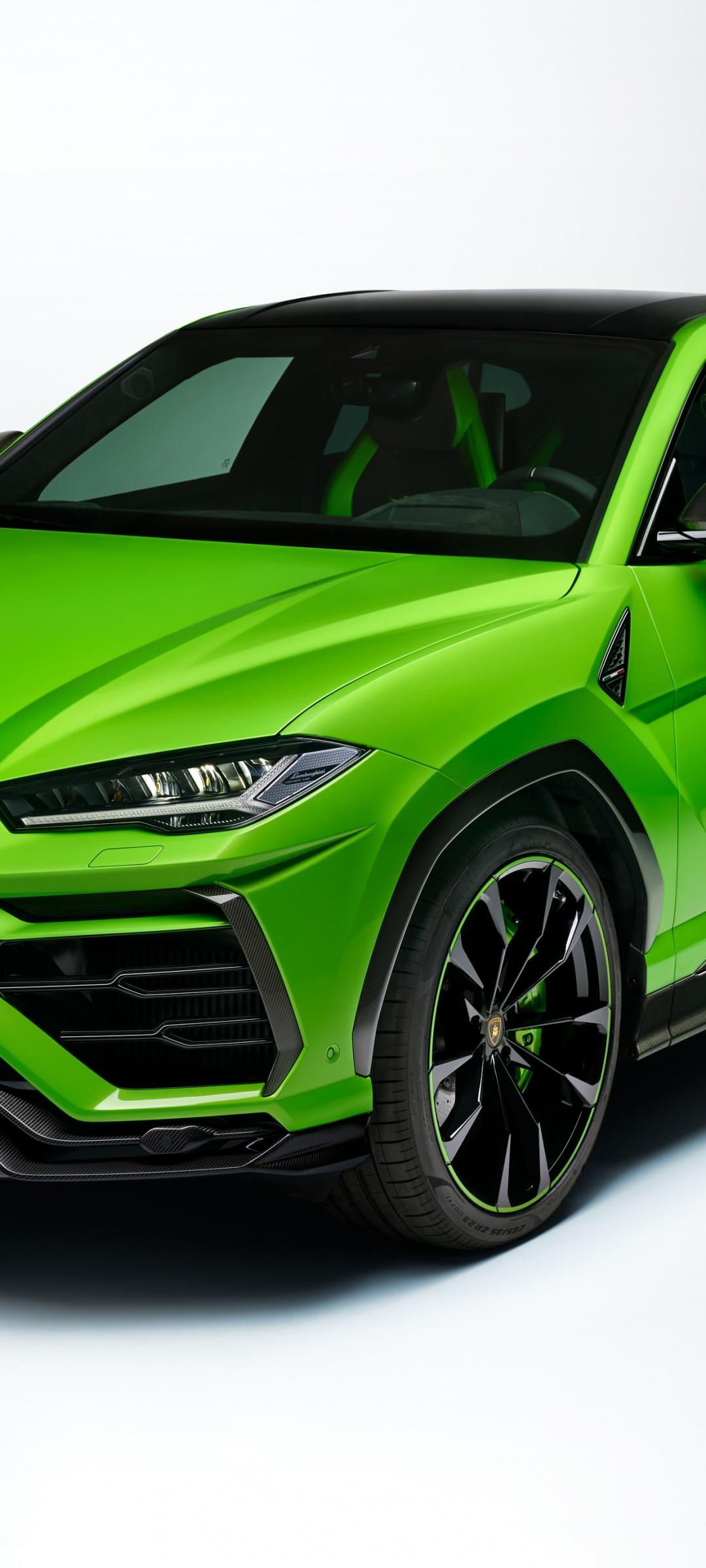 Lamborghini Urus Pearl Capsule 4k Wallpaper Green White Background 2020 Cars 1443