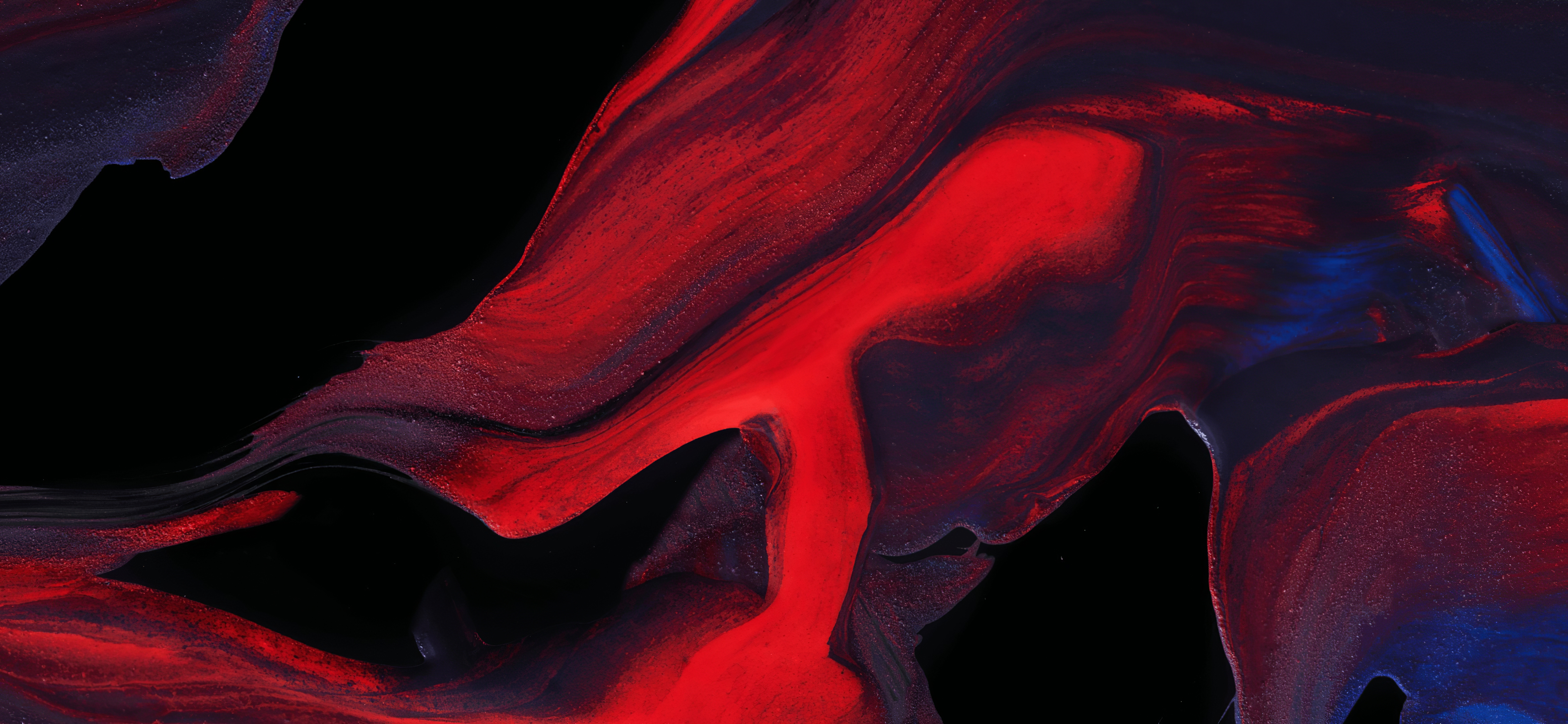Lava 4k Wallpaper Red Coloros Stock Abstract 362