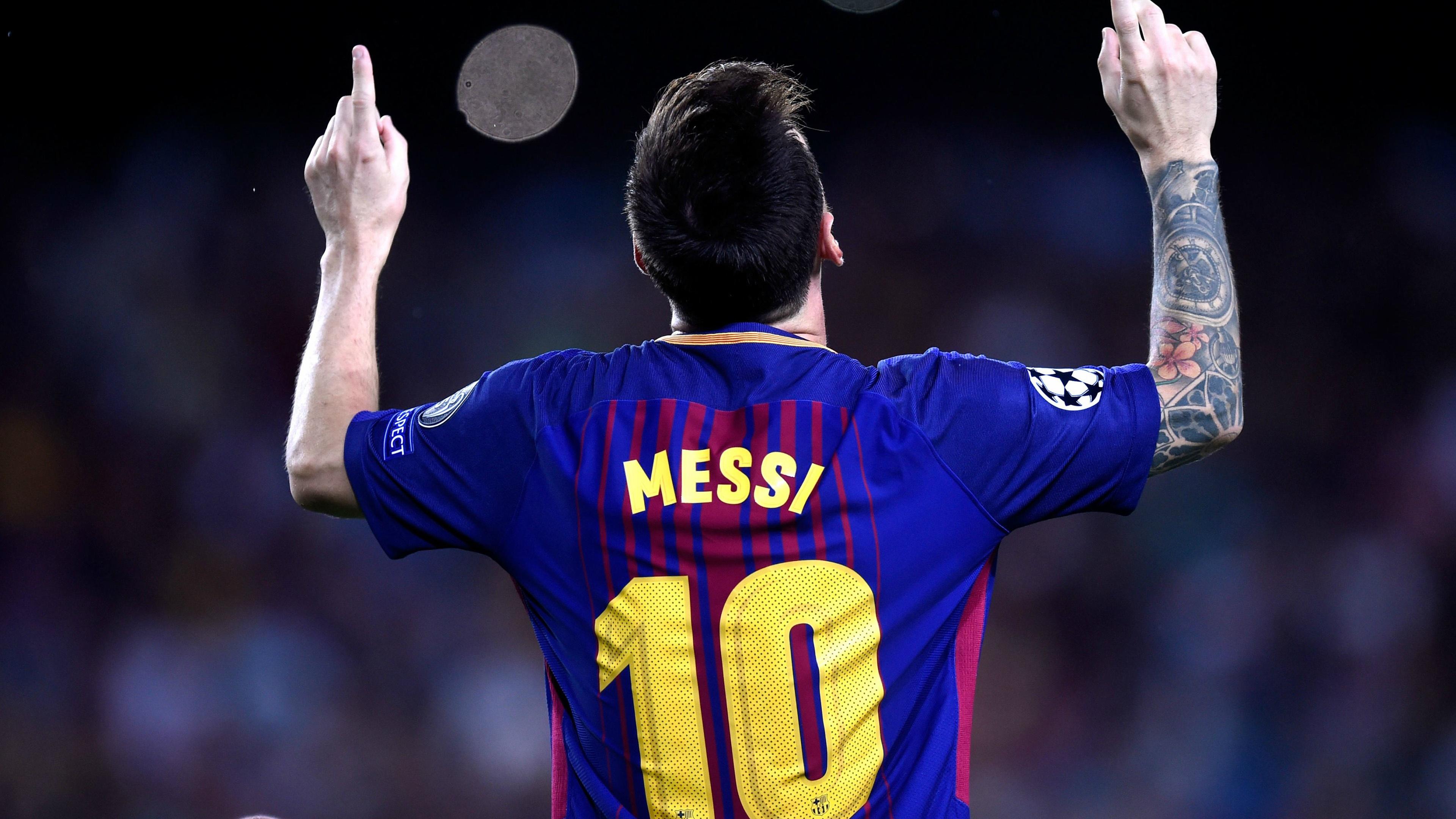 Lionel Messi 4k Wallpaper Football Player Argentinian Goal Fc Barcelona Sports 3266