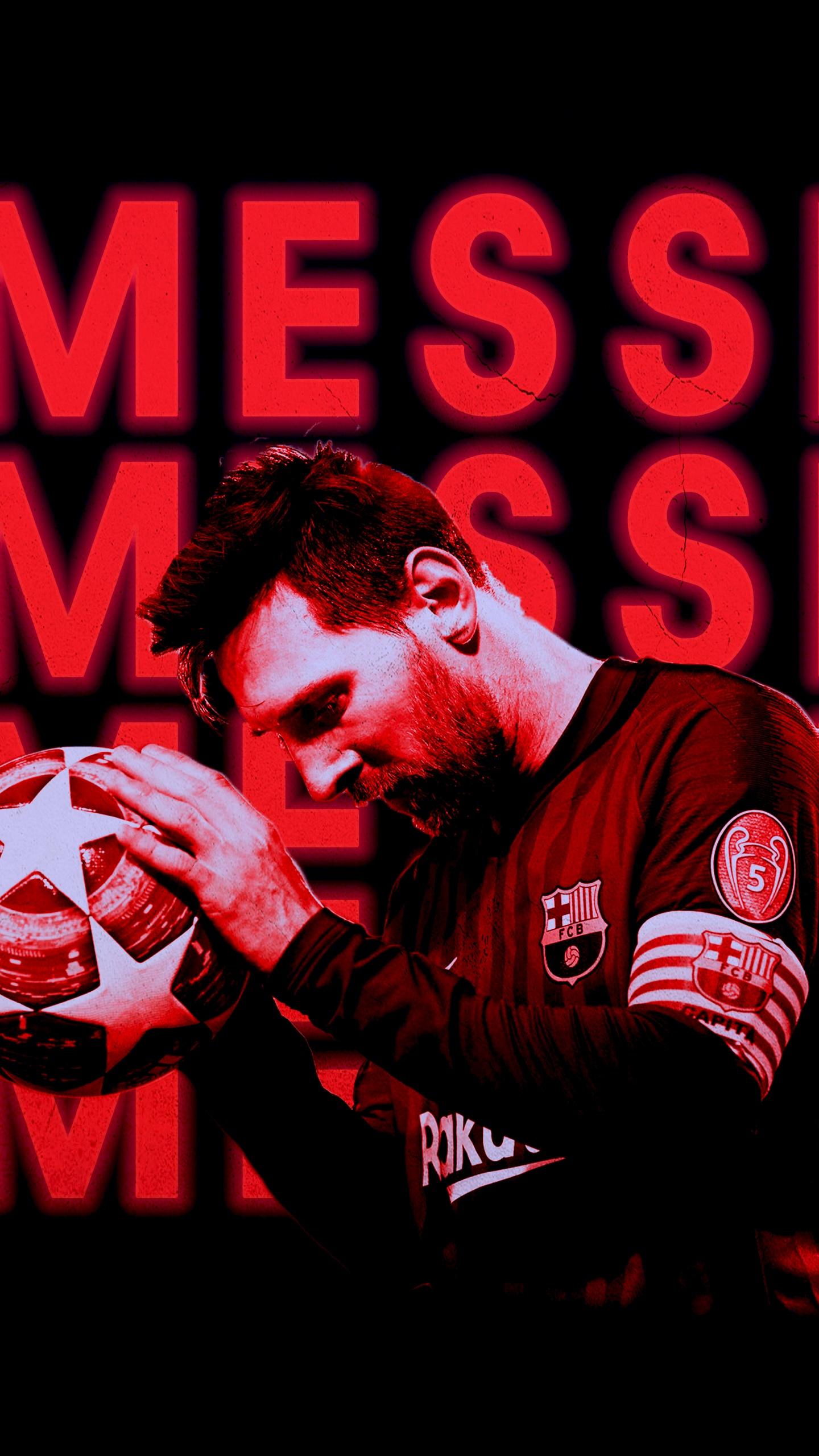 Lionel Messi 4k Wallpaper Football Player Fc Barcelona Fcb Argentina 5k 8k Black Dark 1581