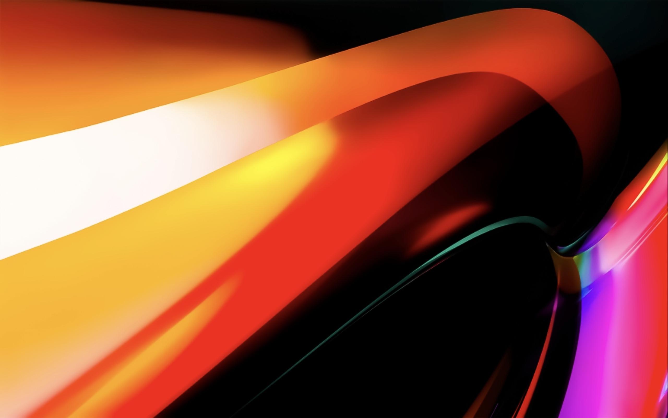 Macbook Pro 4k Wallpaper Orange Apple Stock Abstract 1381
