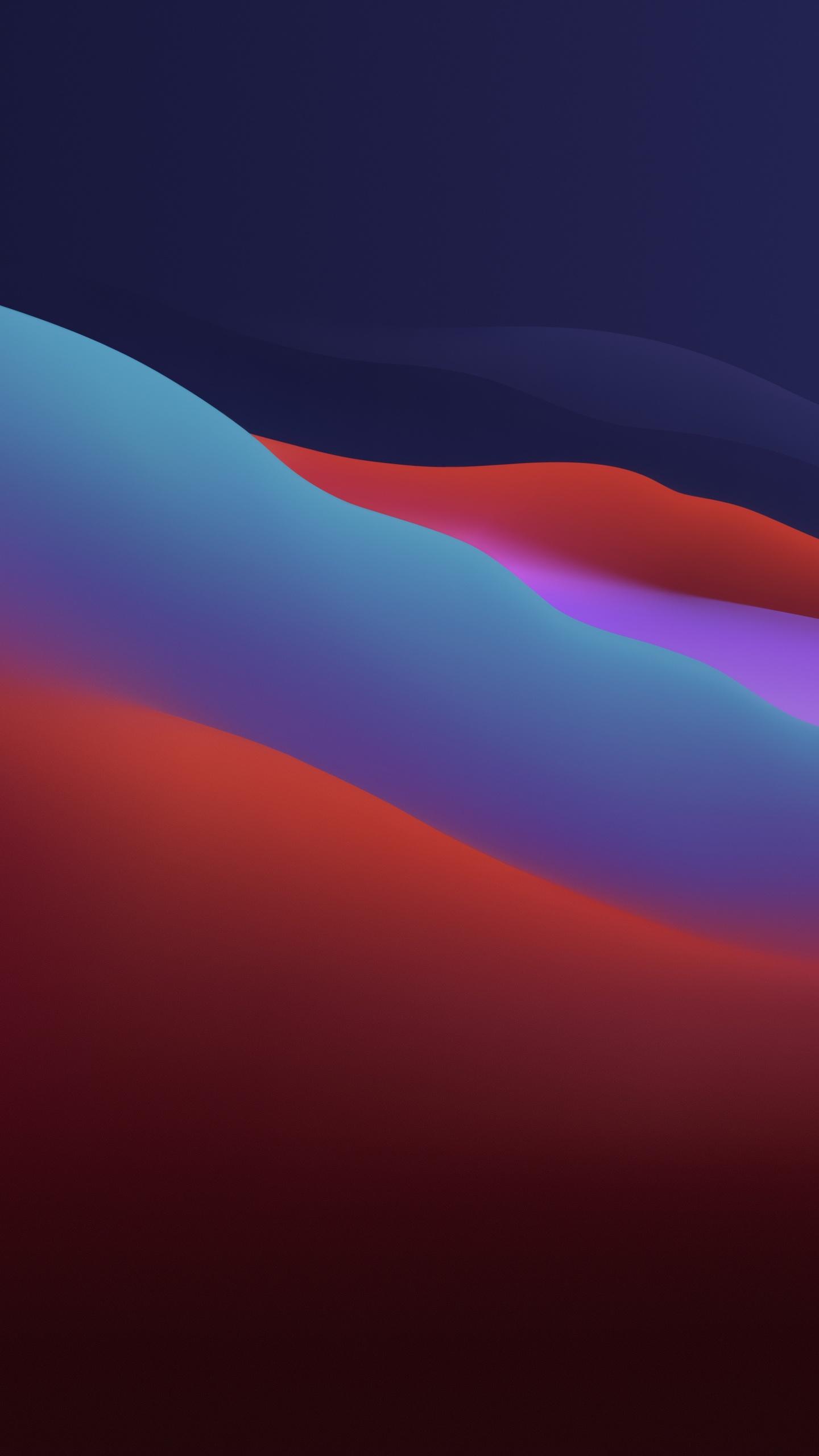 macOS Big Sur Wallpaper 21K, Apple, Layers, Fluidic, Colorful, Dark ...