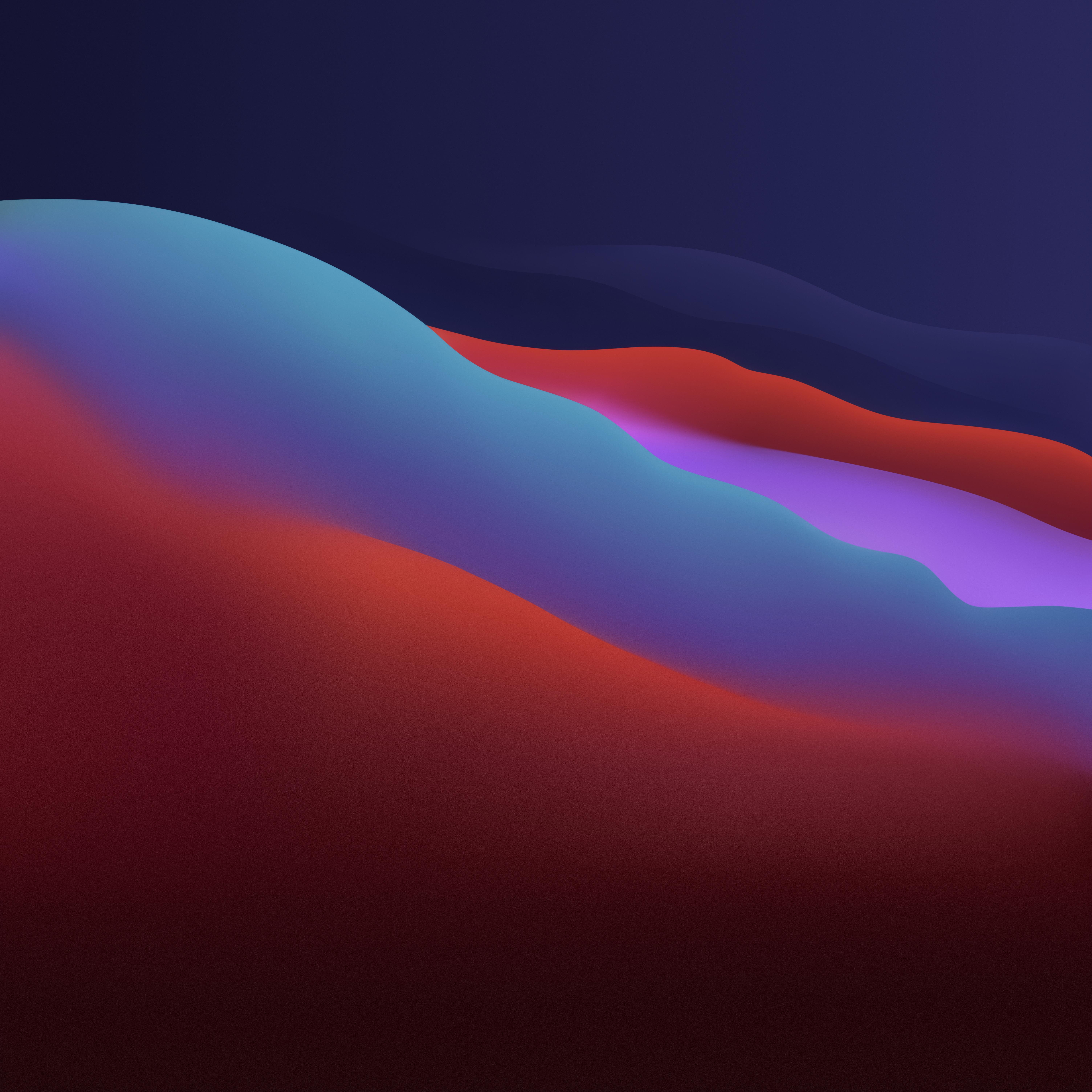 Macos Big Sur 4k Wallpaper Apple Layers Fluidic Colorful Dark Wwdc 2020 5k Gradients 1432