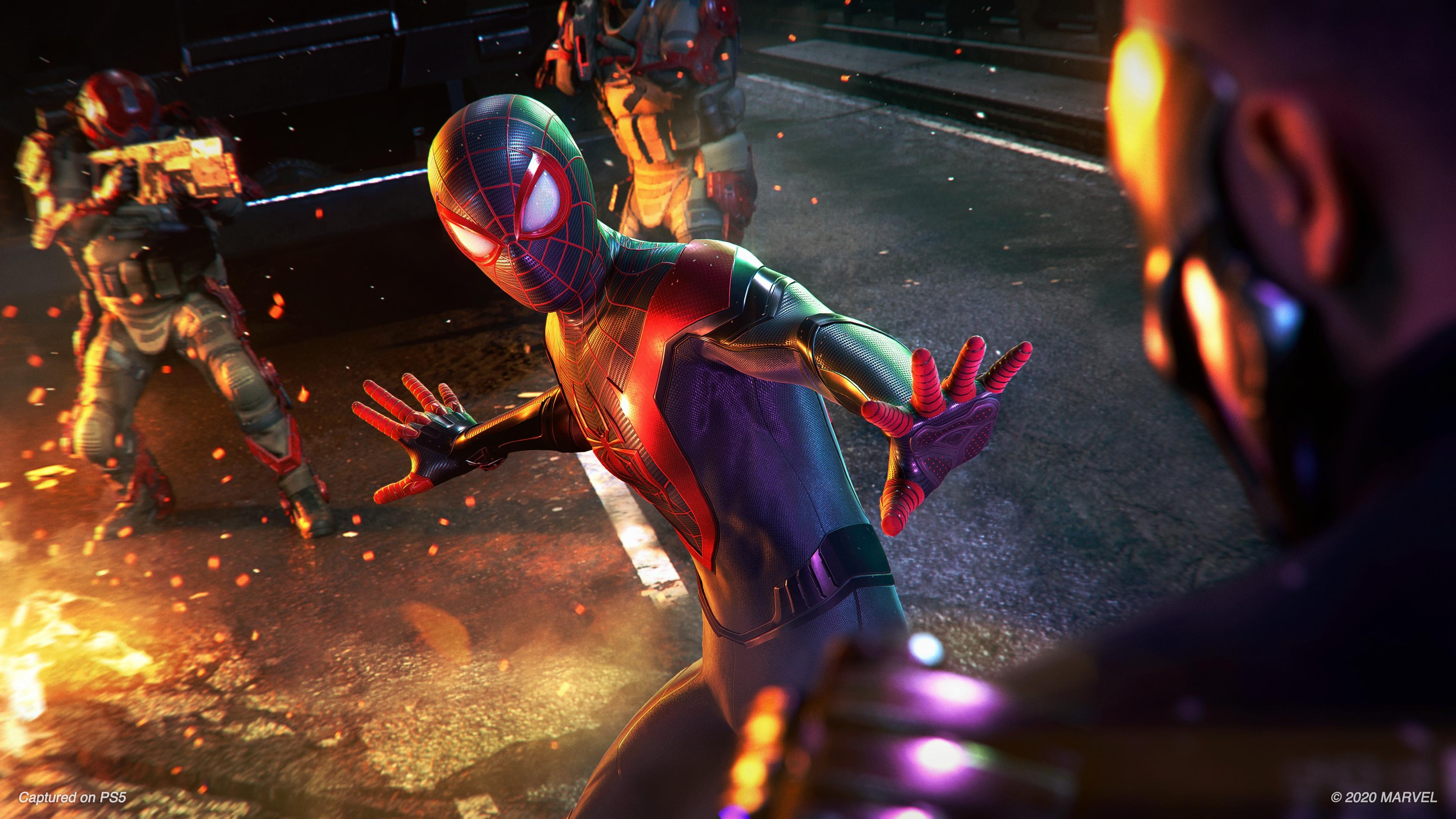 Marvel S Spider Man Miles Morales 4k Wallpaper 2020 Games Playstation 5 Games 2696