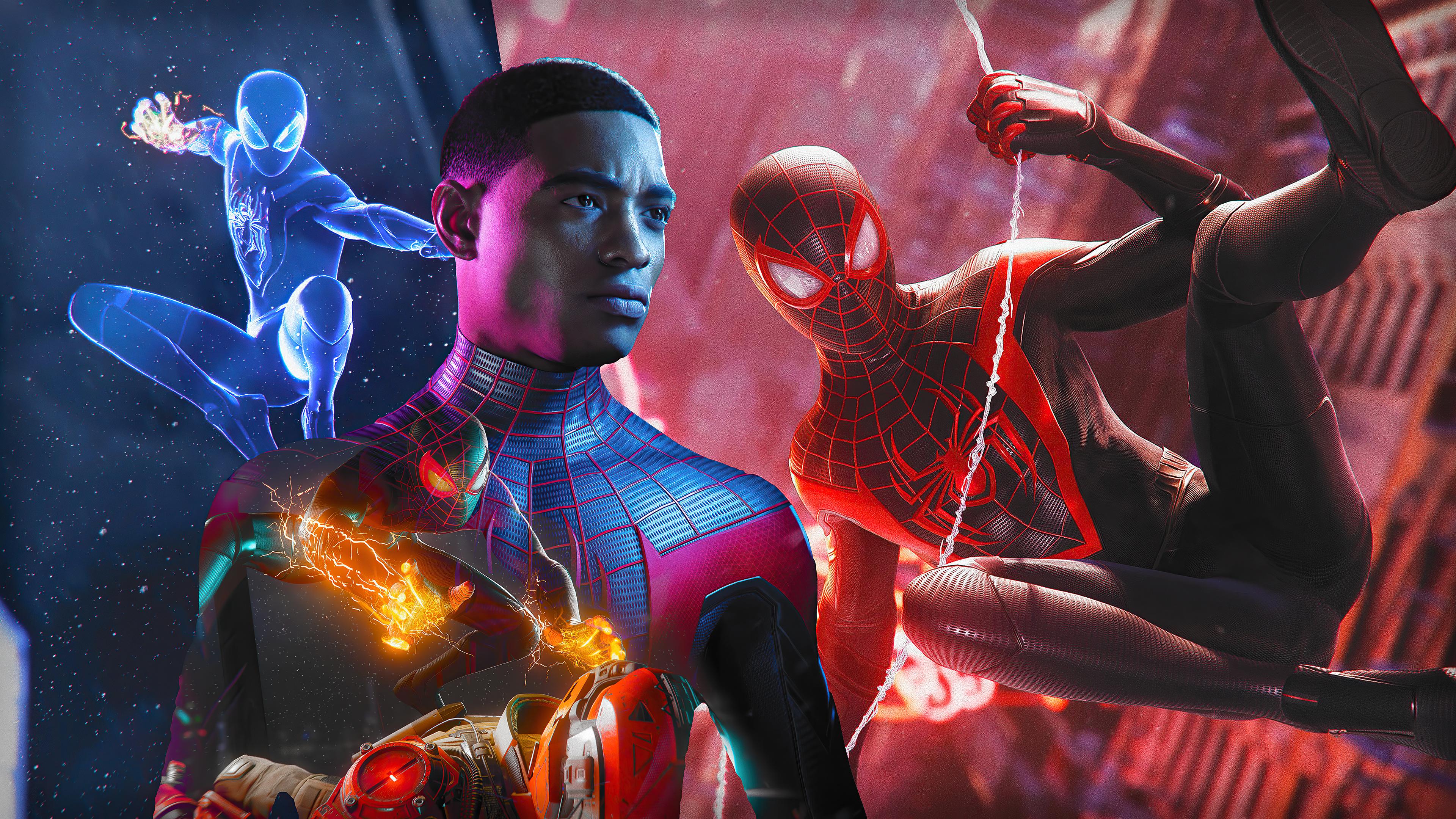 Marvel S Spider Man Miles Morales 4k Wallpaper Playstation 5 2020 Games Games 1280